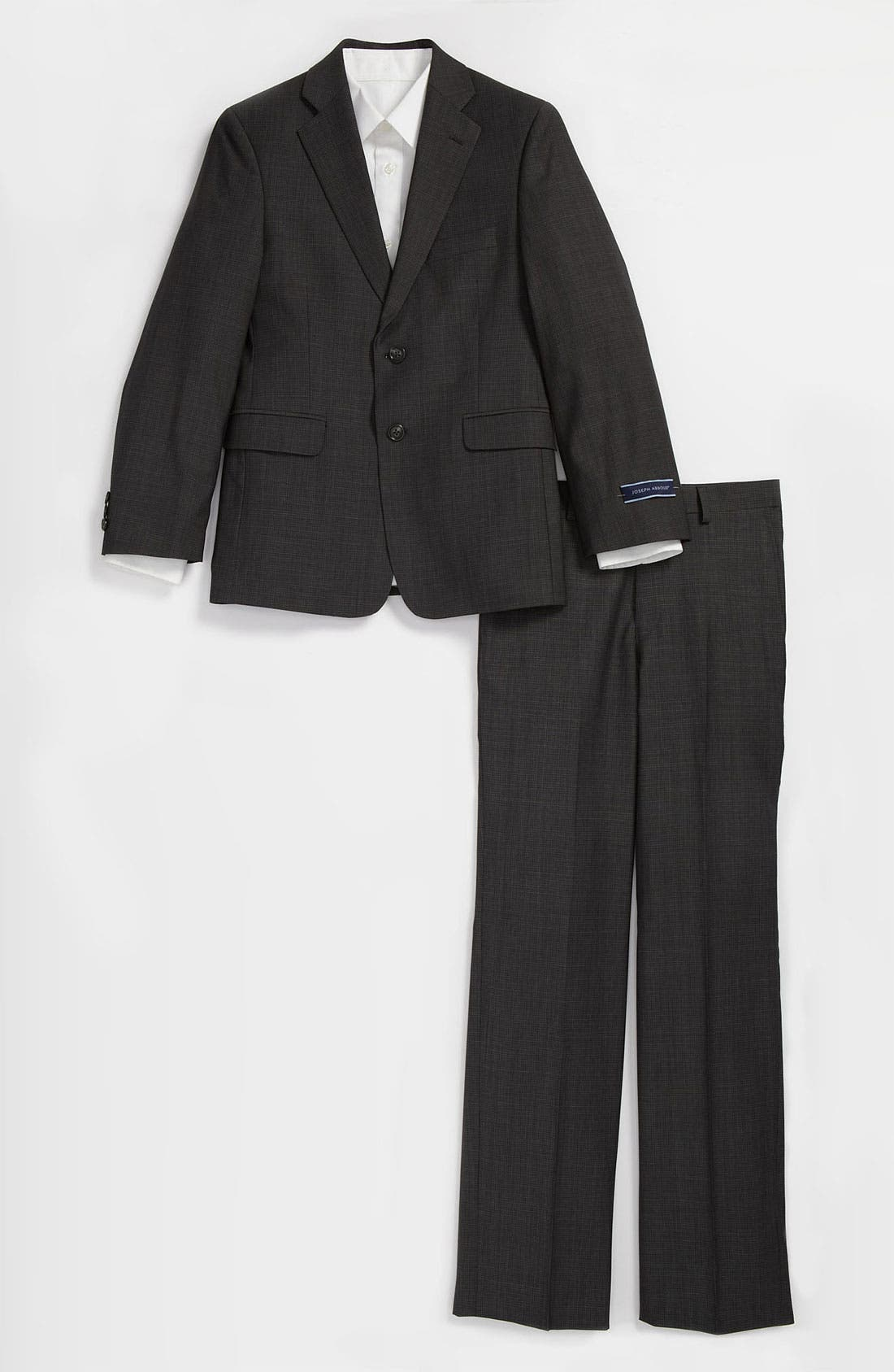 Alternate Image 1 Selected - Joseph Abboud Wool Suit (Big Boys)
