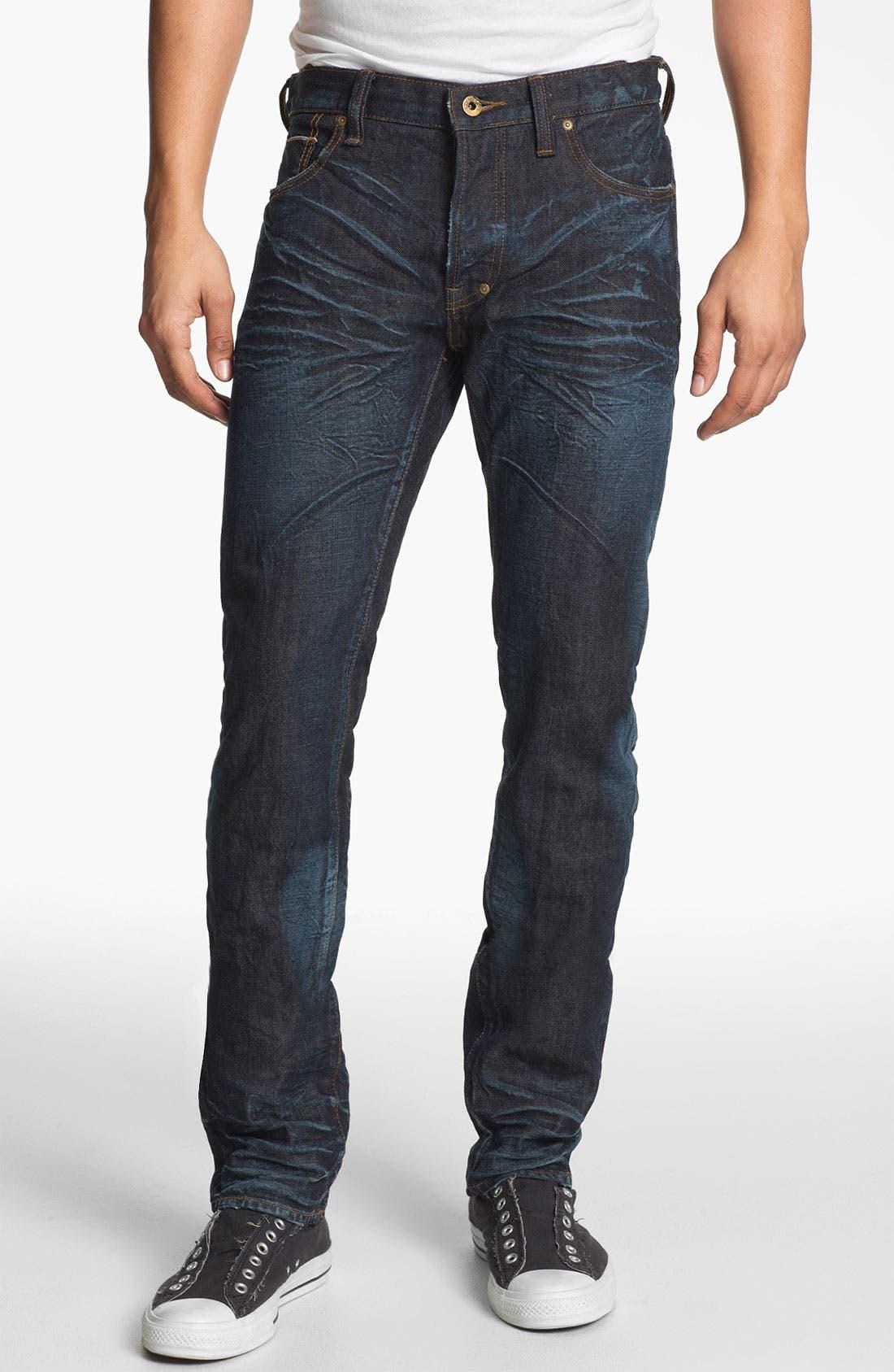 Alternate Image 2  - PRPS 'Rambler' Slim Fit Selvedge Jeans (6 Month)