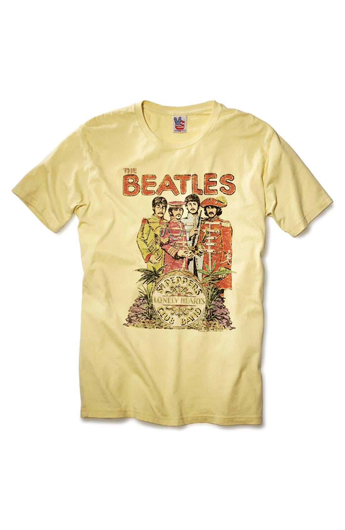 Alternate Image 4  - Junk Food 'The Beatles' Graphic T-shirt