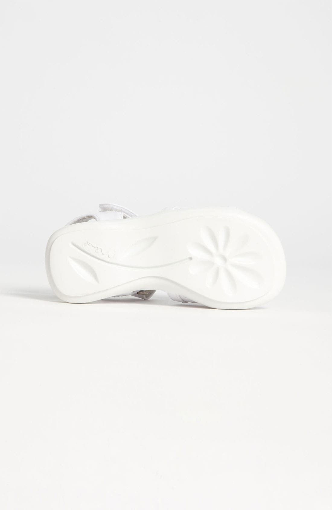 Alternate Image 4  - Nina 'Constance' Flower Sandal (Walker & Toddler)