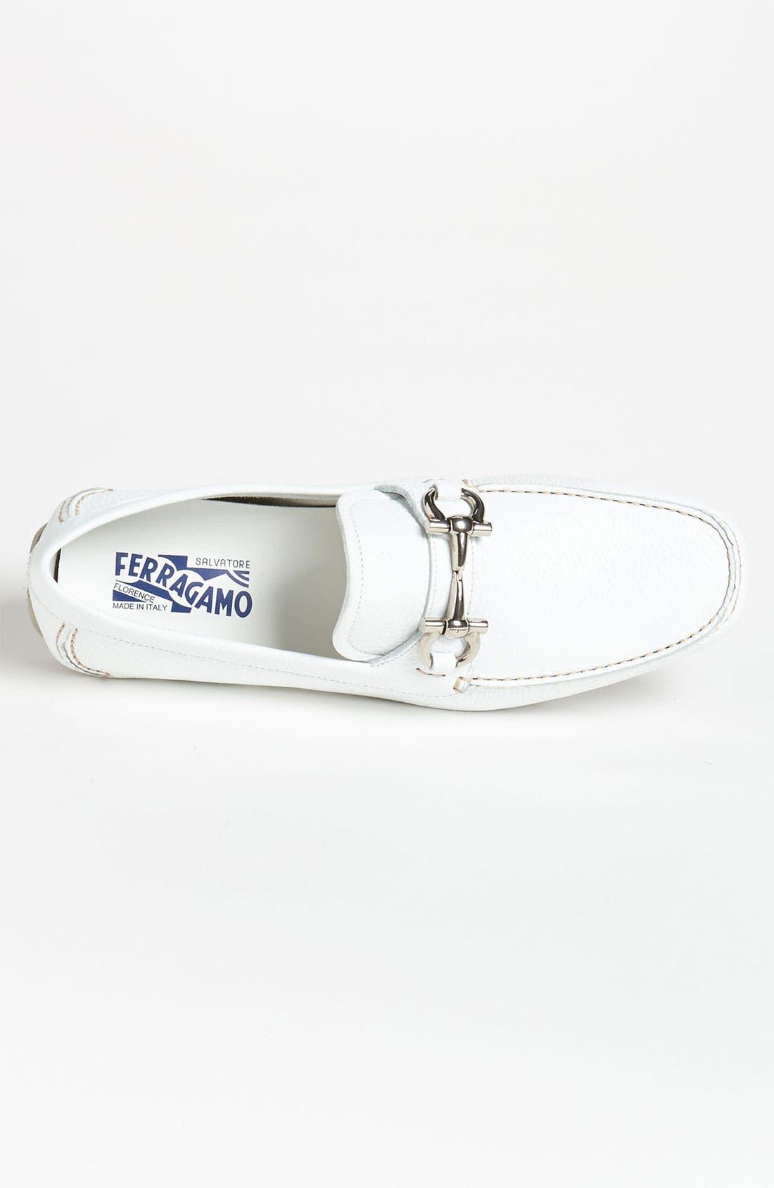 Alternate Image 3  - Salvatore Ferragamo 'Parigi' Driving Shoe