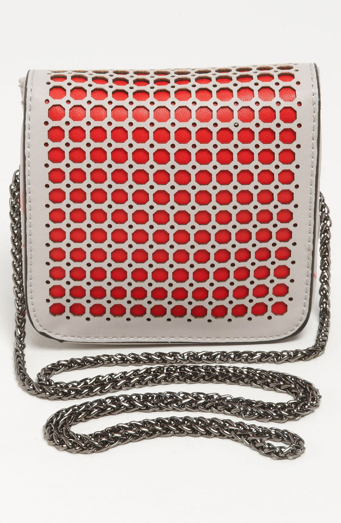 Alternate Image 4  - POVERTY FLATS by rian Perforated Mini Clutch