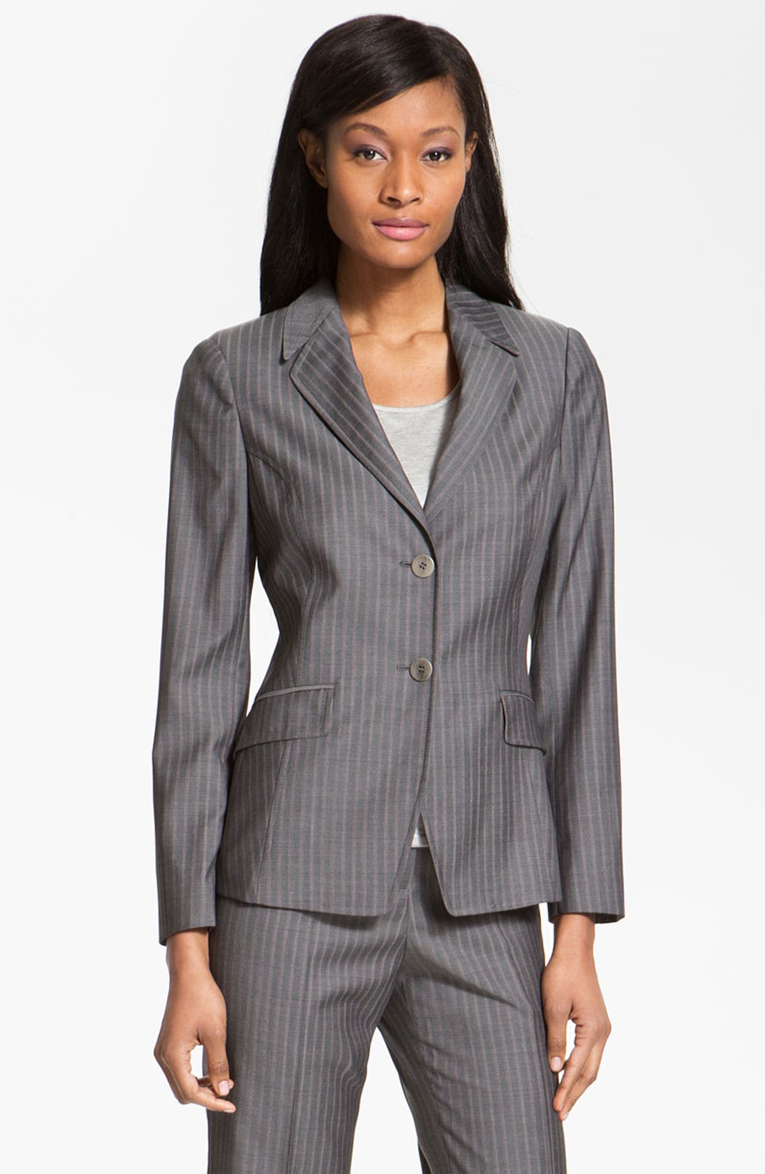 Alternate Image 1 Selected - Santorelli 'Vicky' Wool Jacket