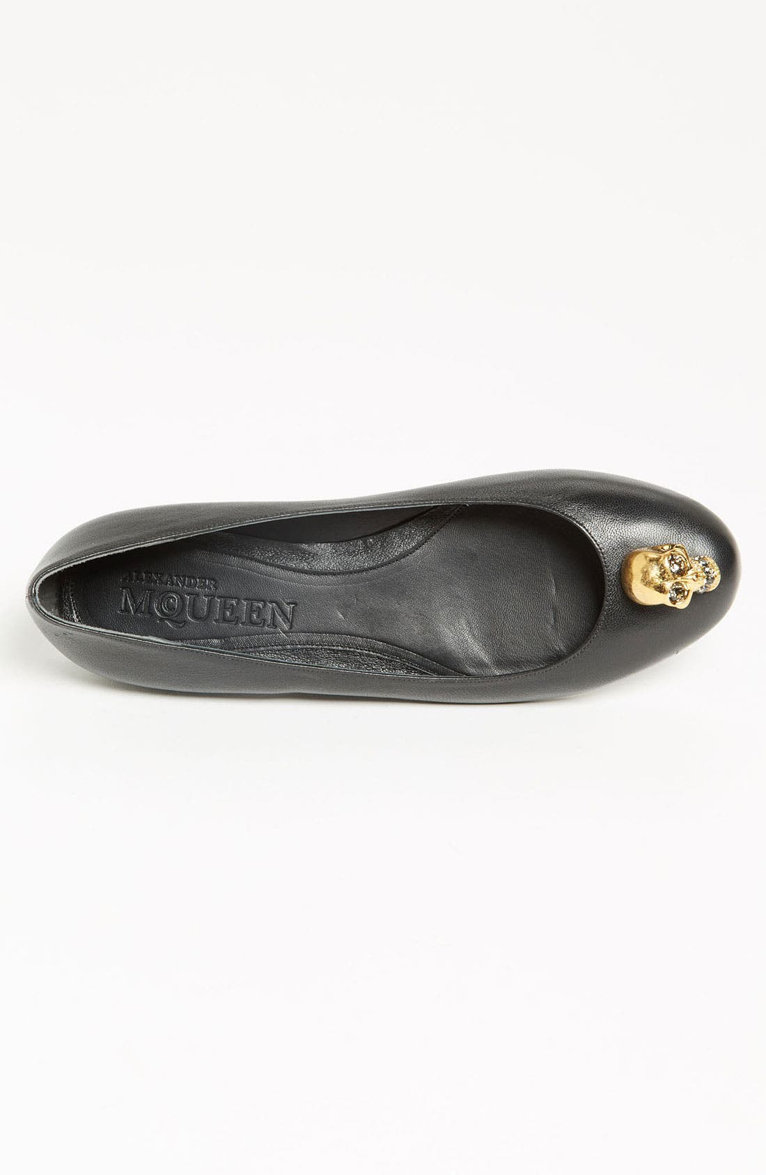 Alternate Image 3  - Alexander McQueen Skull Ballet Flat