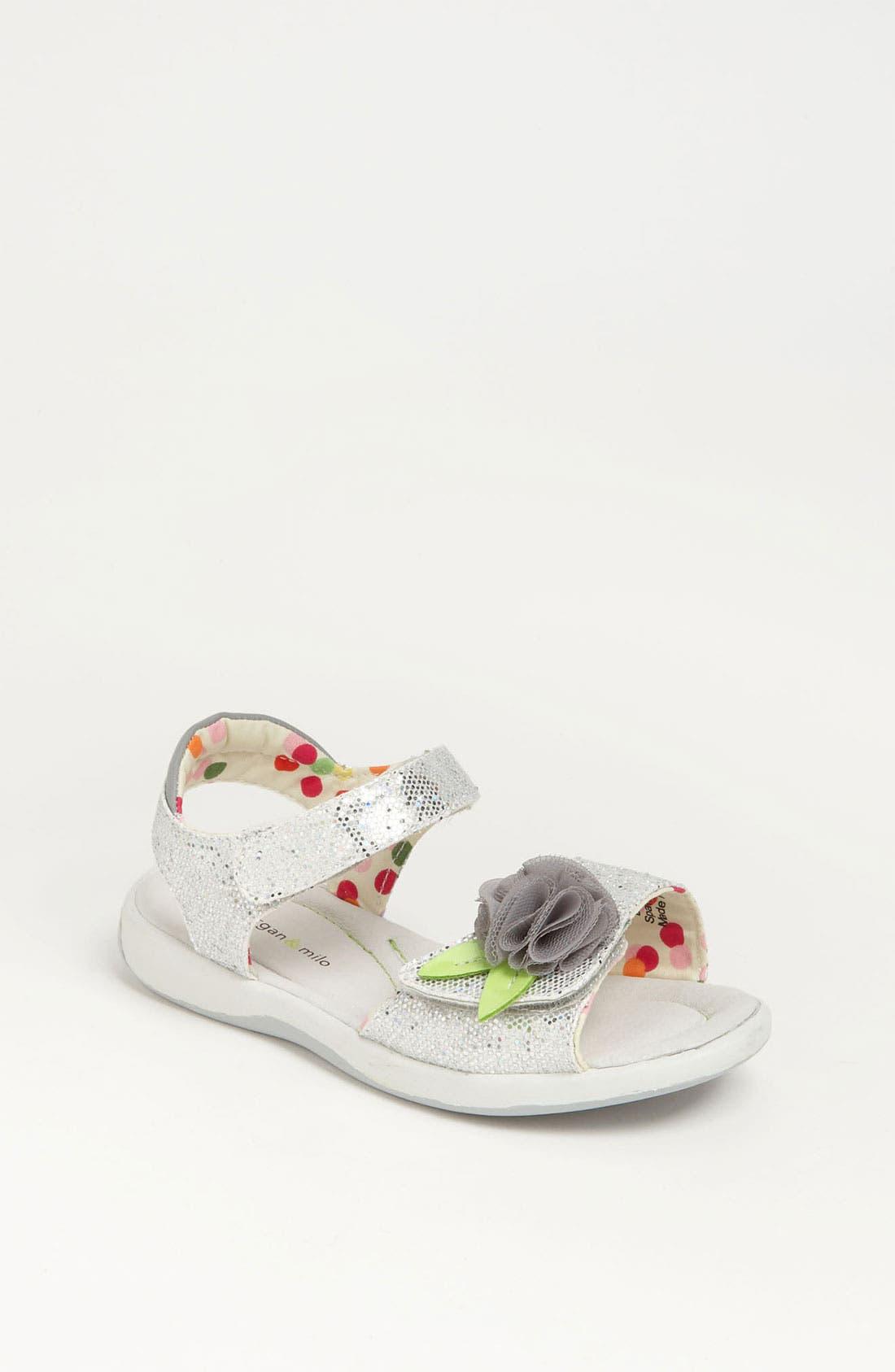 Main Image - Morgan & Milo 'Tina' Sparkle Sandal (Walker, Toddler & Little Kid)