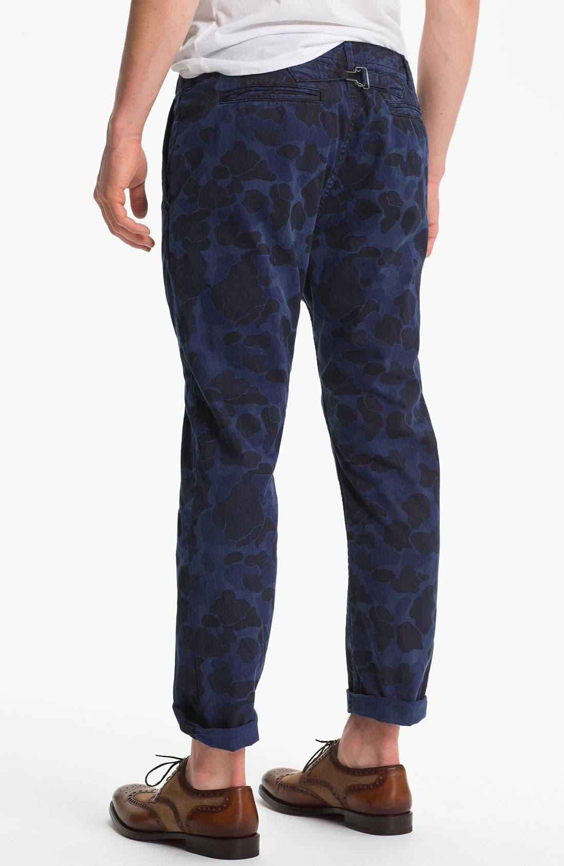 Alternate Image 2  - Scotch & Soda 'Mason' Camo Print Slim Straight Leg Chinos