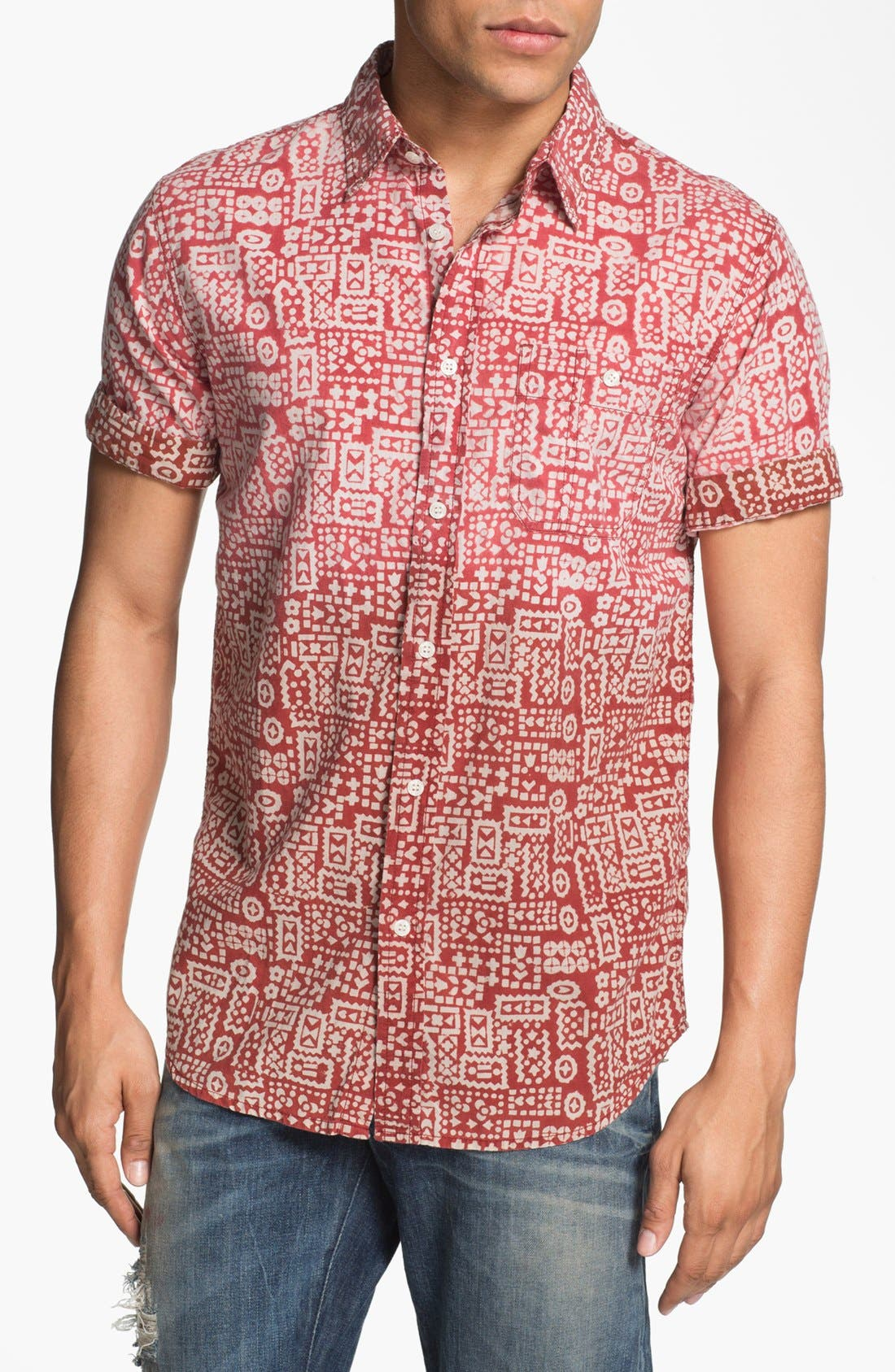 Main Image - Just A Cheap Shirt Slim Fit Sport Shirt