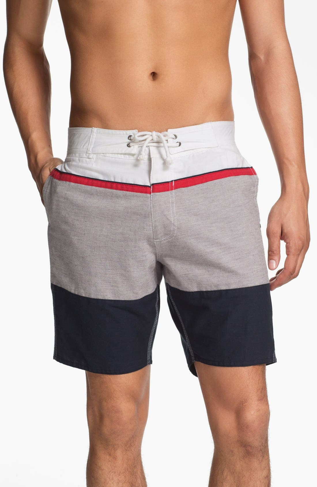 Alternate Image 1 Selected - Element 'Caicos' Board Shorts