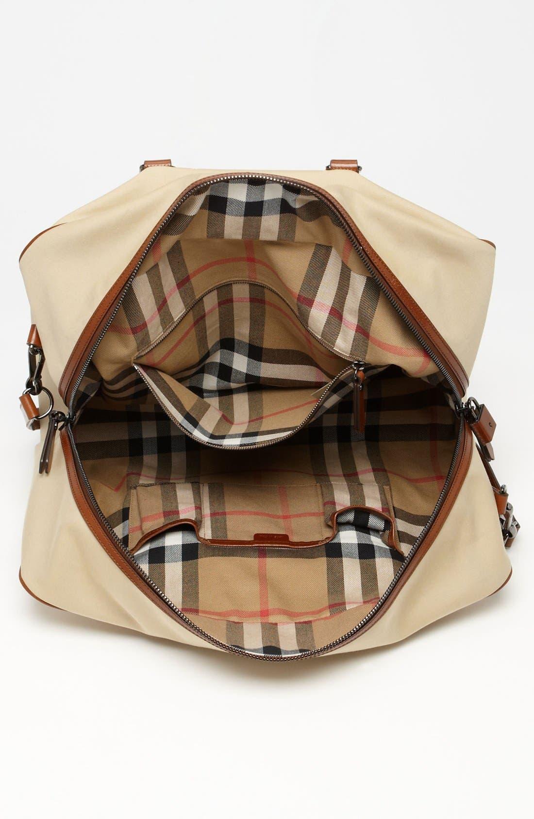 Alternate Image 3  - Burberry 'Barwood' Duffel Bag