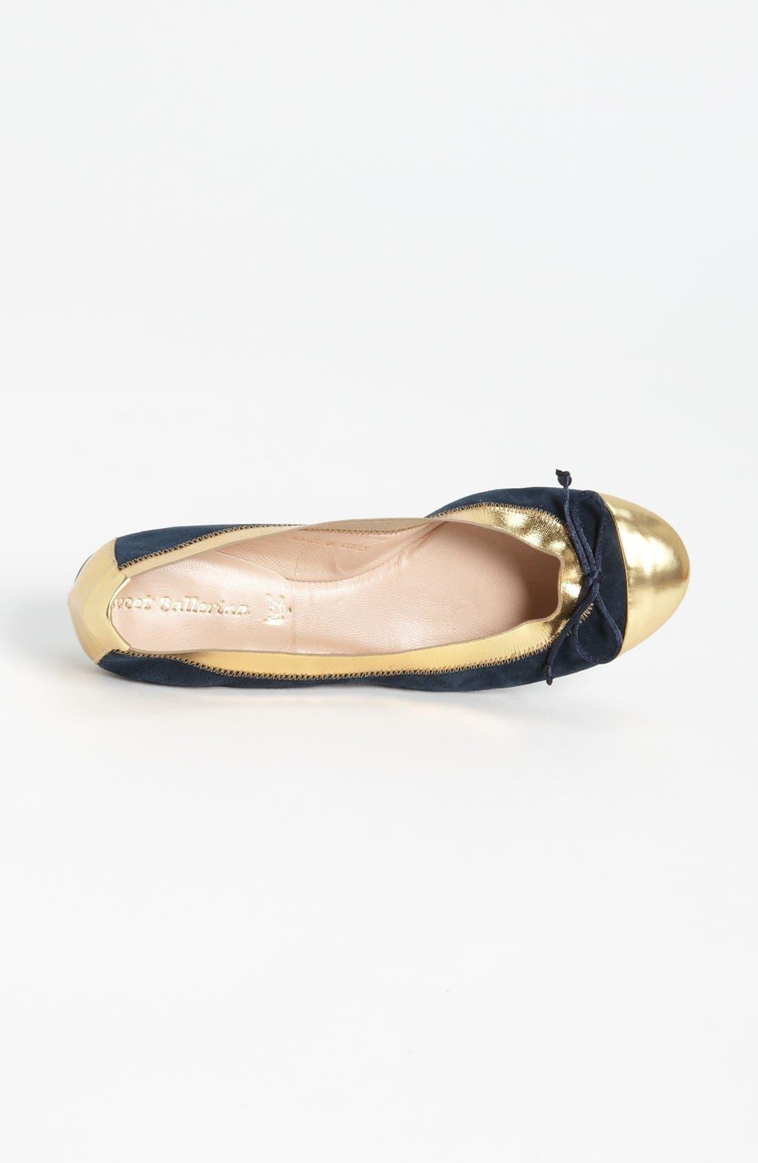 Alternate Image 3  - Sweet Ballerina 'Anemone' Ballet Flat