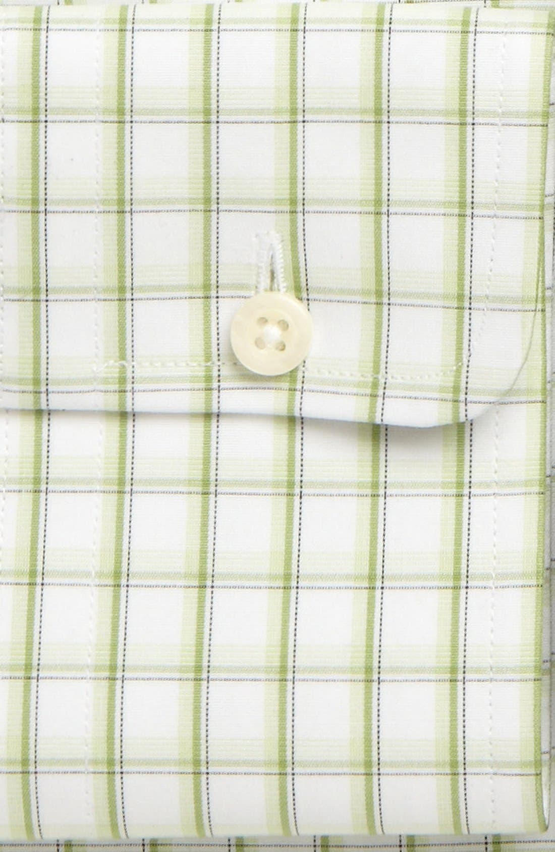 Alternate Image 3  - David Donahue Trim Fit Dress Shirt