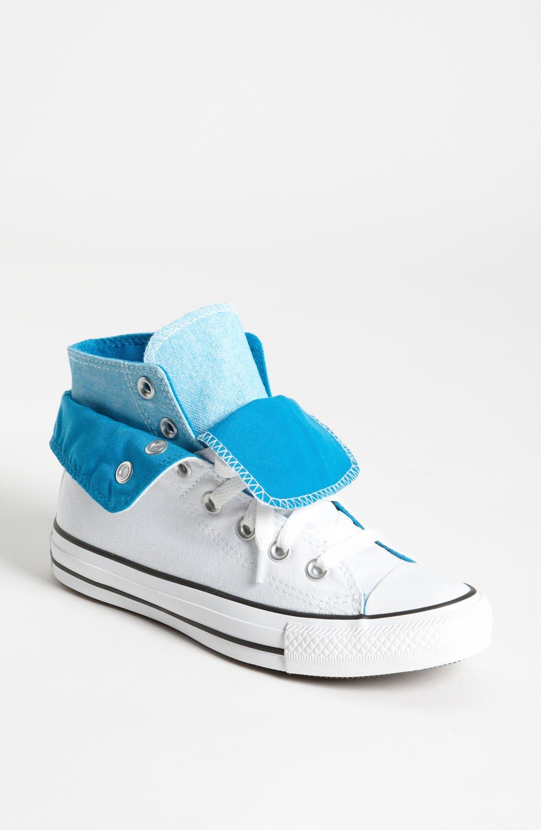 Alternate Image 1 Selected - Converse Chuck Taylor® All Star® Double Tongue High Top Sneaker (Women)