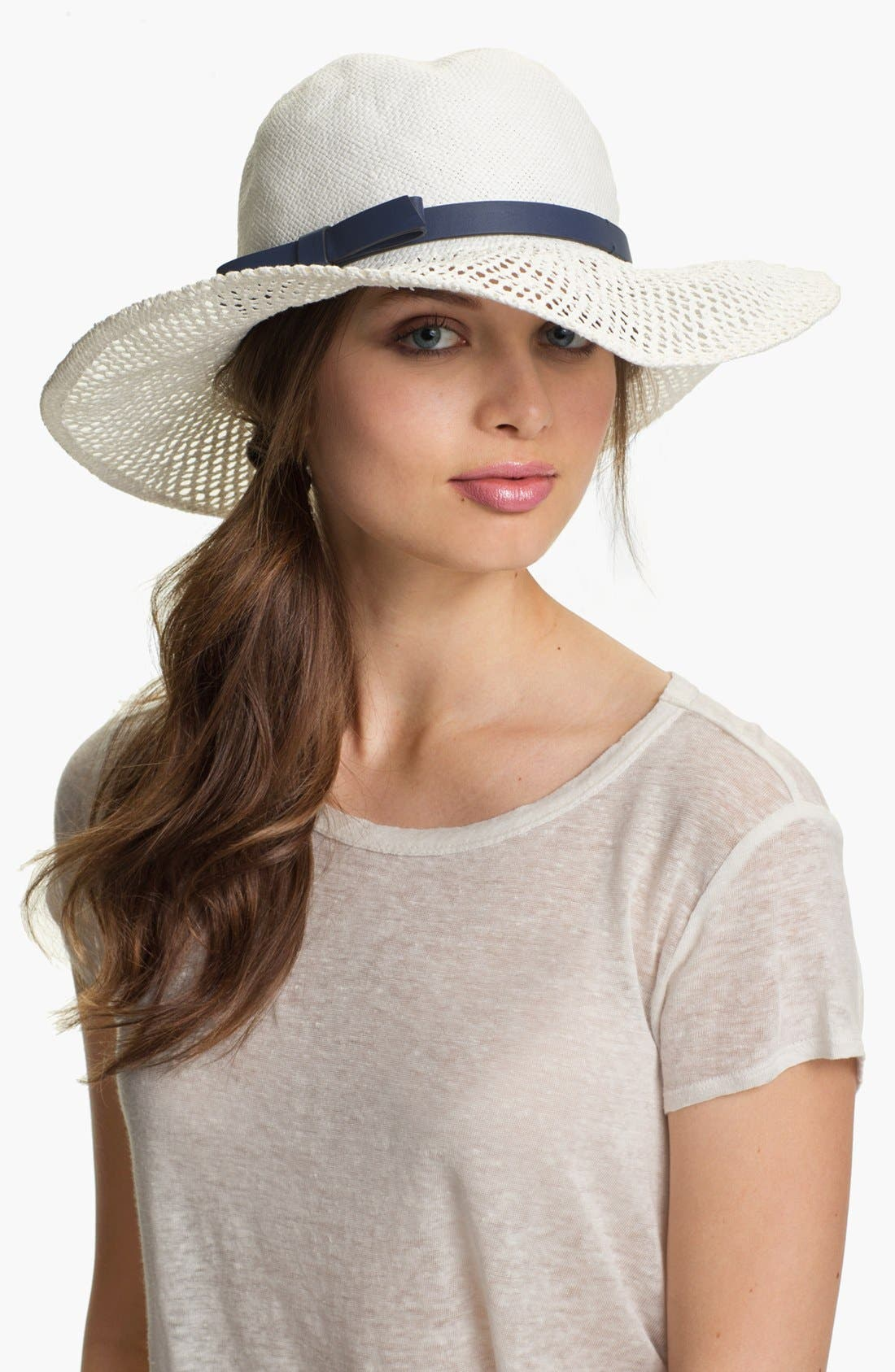 Alternate Image 1 Selected - kate spade new york lace brim sun hat