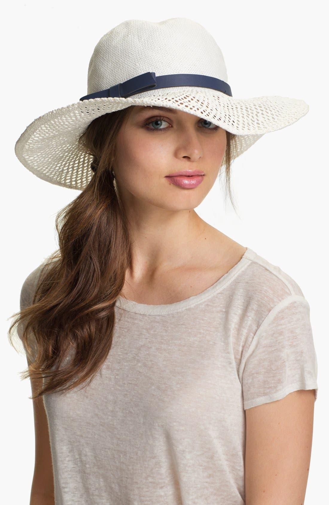 Alternate Image 1 Selected - kate spade new york lace brim sun hat