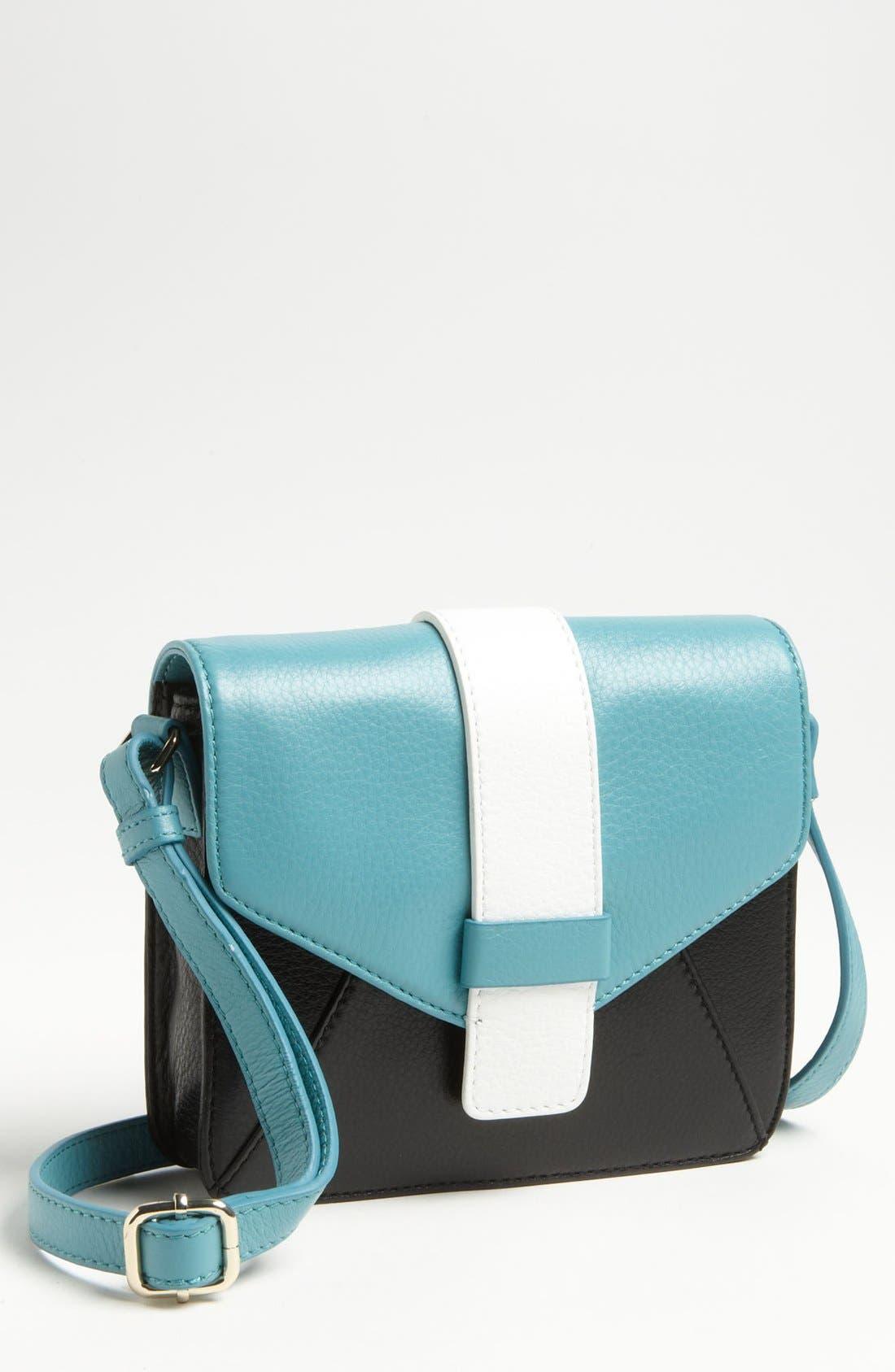 Alternate Image 1 Selected - Halogen 'Ella' Colorblock Crossbody Bag