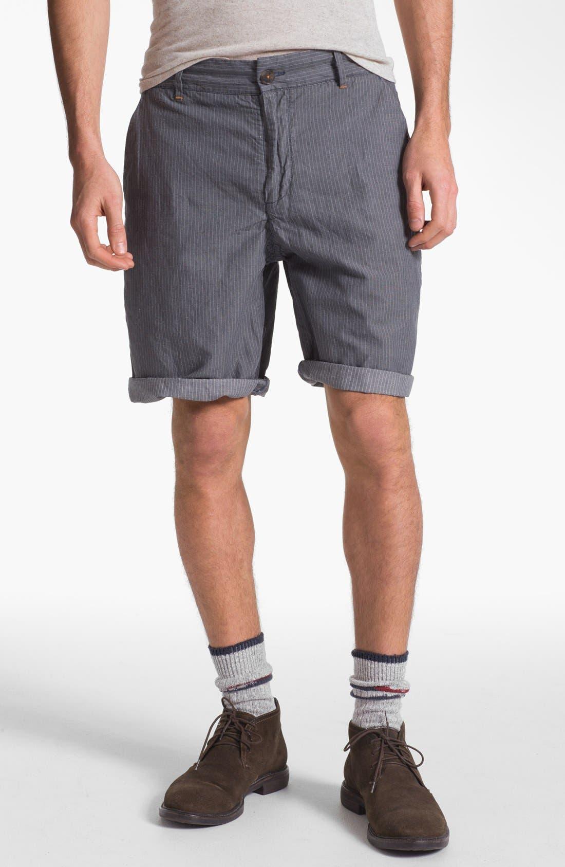 Alternate Image 1 Selected - W.R.K 'Gibson' Linen Blend Shorts