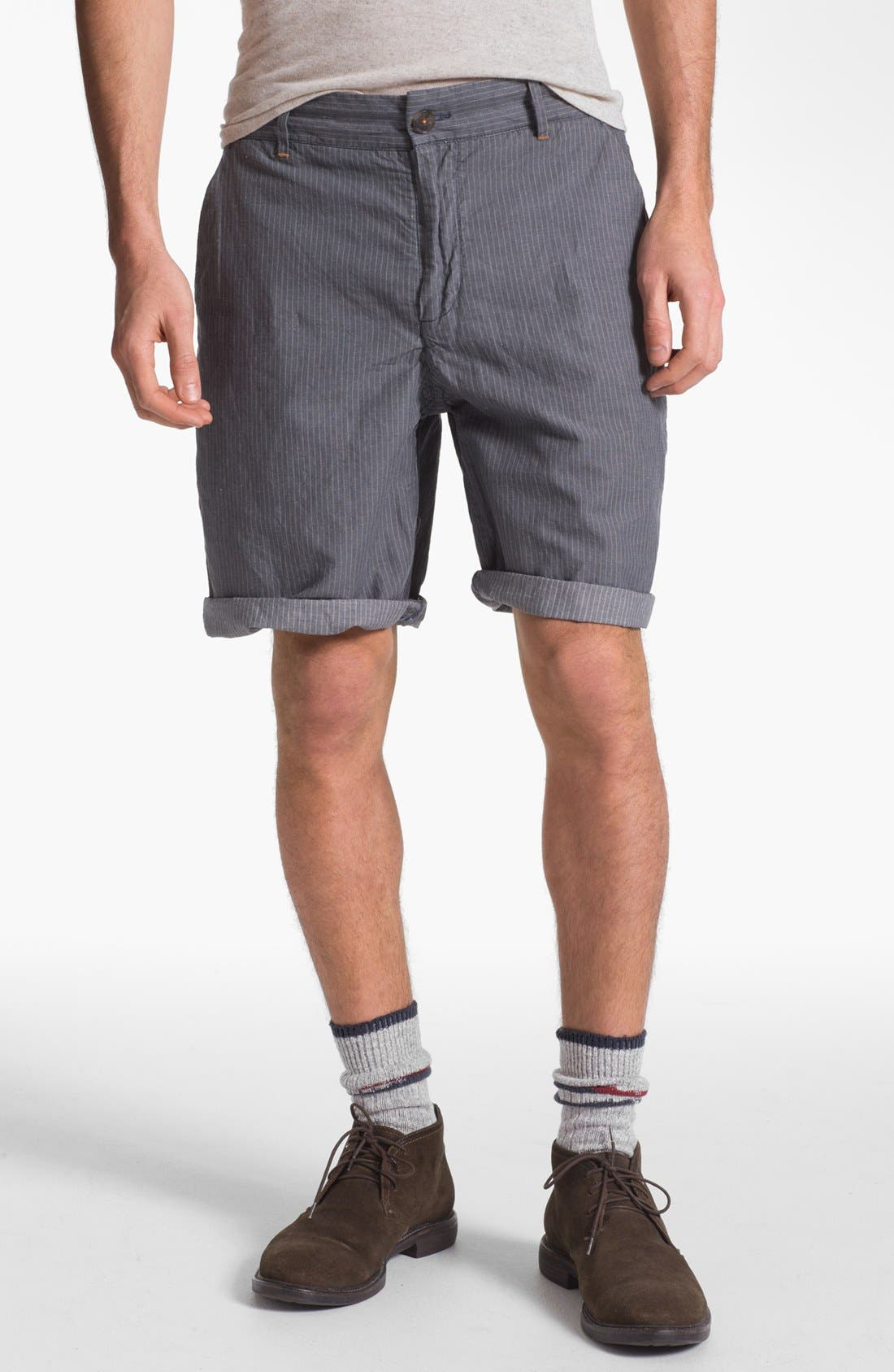 Main Image - W.R.K 'Gibson' Linen Blend Shorts