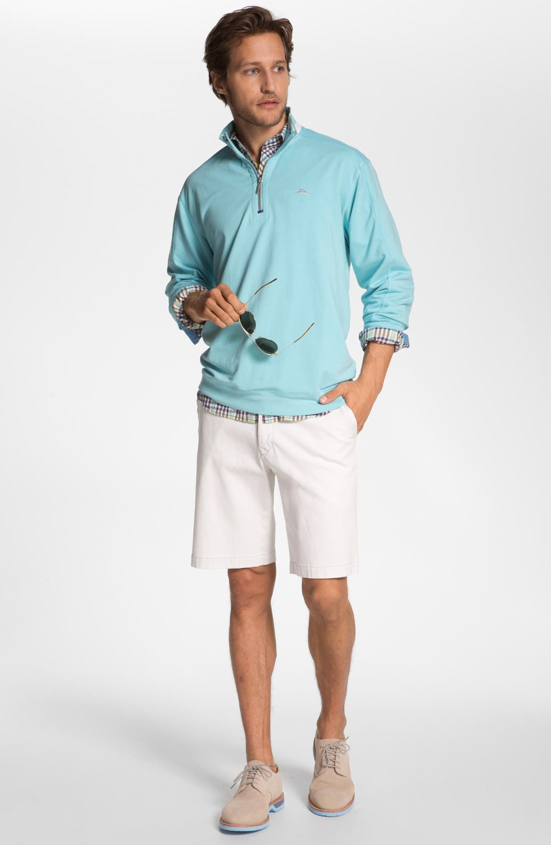 Alternate Image 4  - Tommy Bahama Denim 'Ole Oxford' Regular Fit Sport Shirt