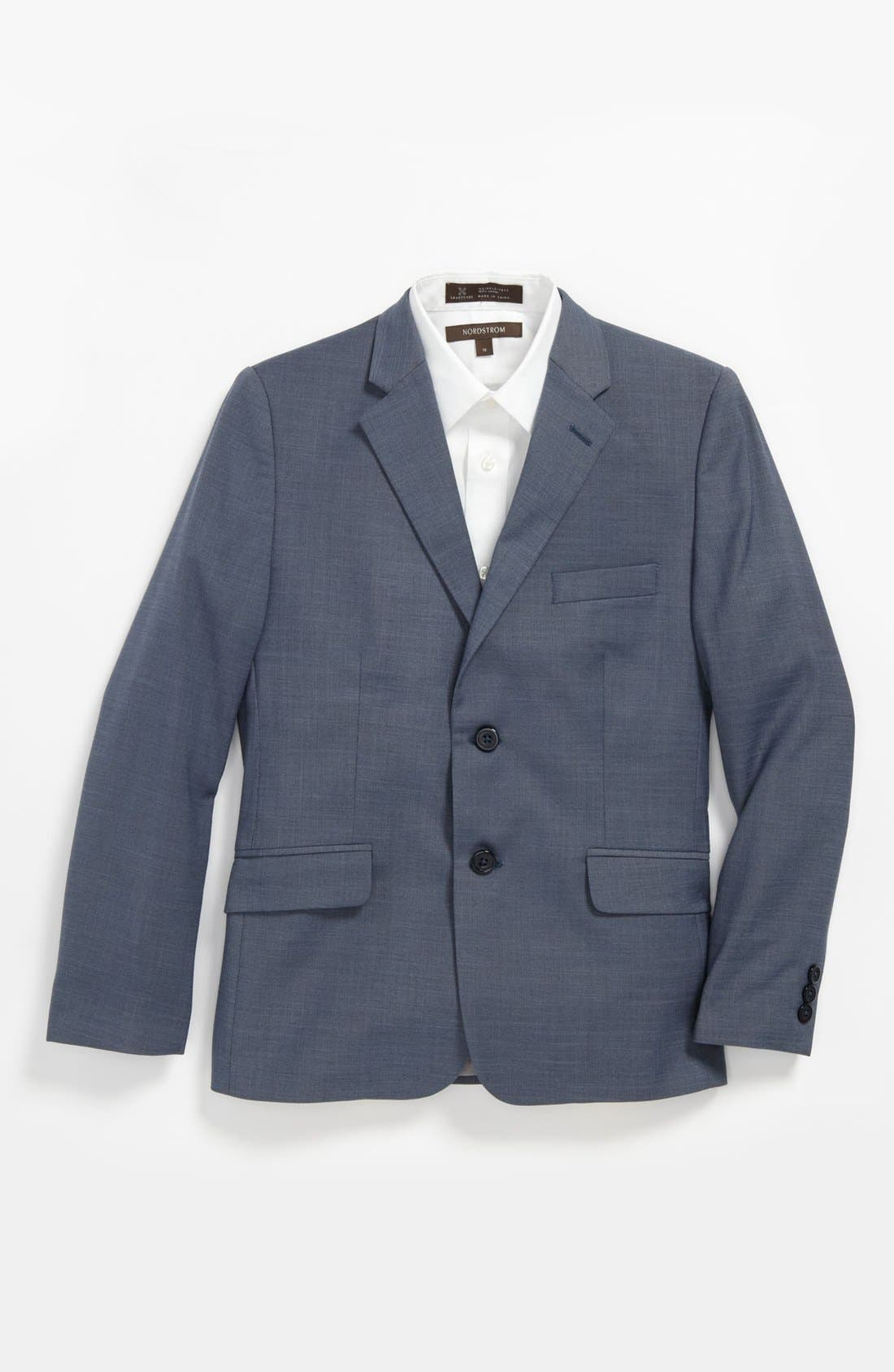 Main Image - C2 by Calibrate Two Button Jacket (Big Boys)