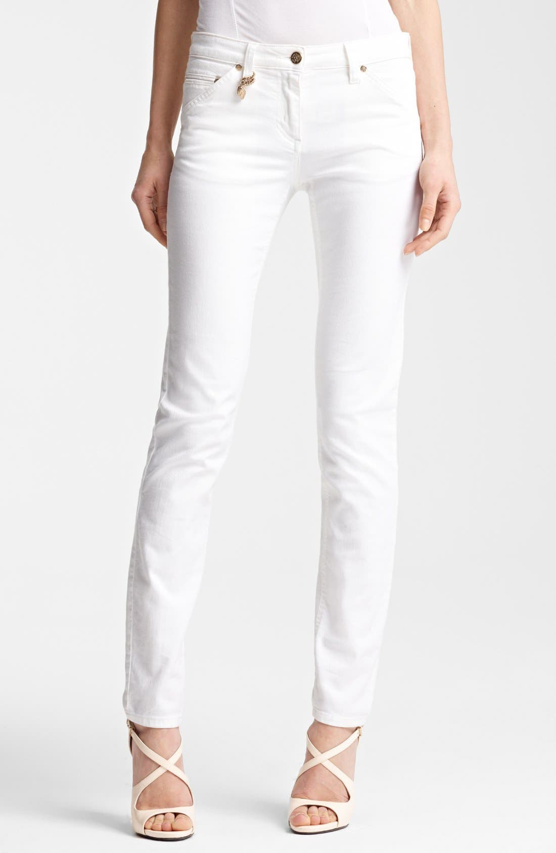 Alternate Image 1 Selected - Roberto Cavalli Skinny Stretch Jeans