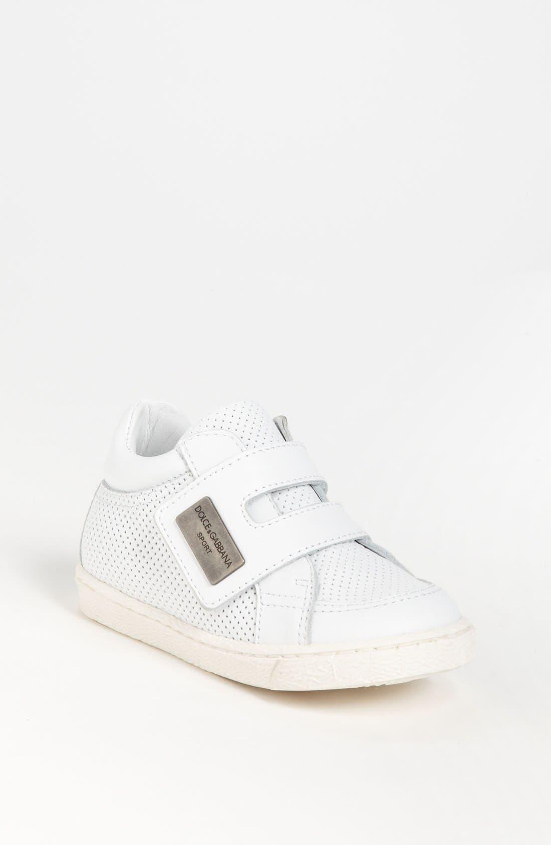 Alternate Image 1 Selected - Dolce&Gabbana Sneaker (Walker & Toddler)