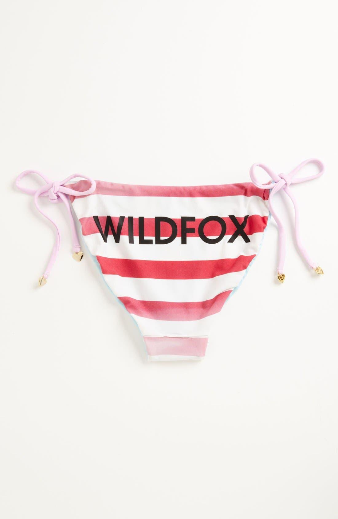 Alternate Image 2  - Wildfox 'USA Flag' Bikini Bottoms