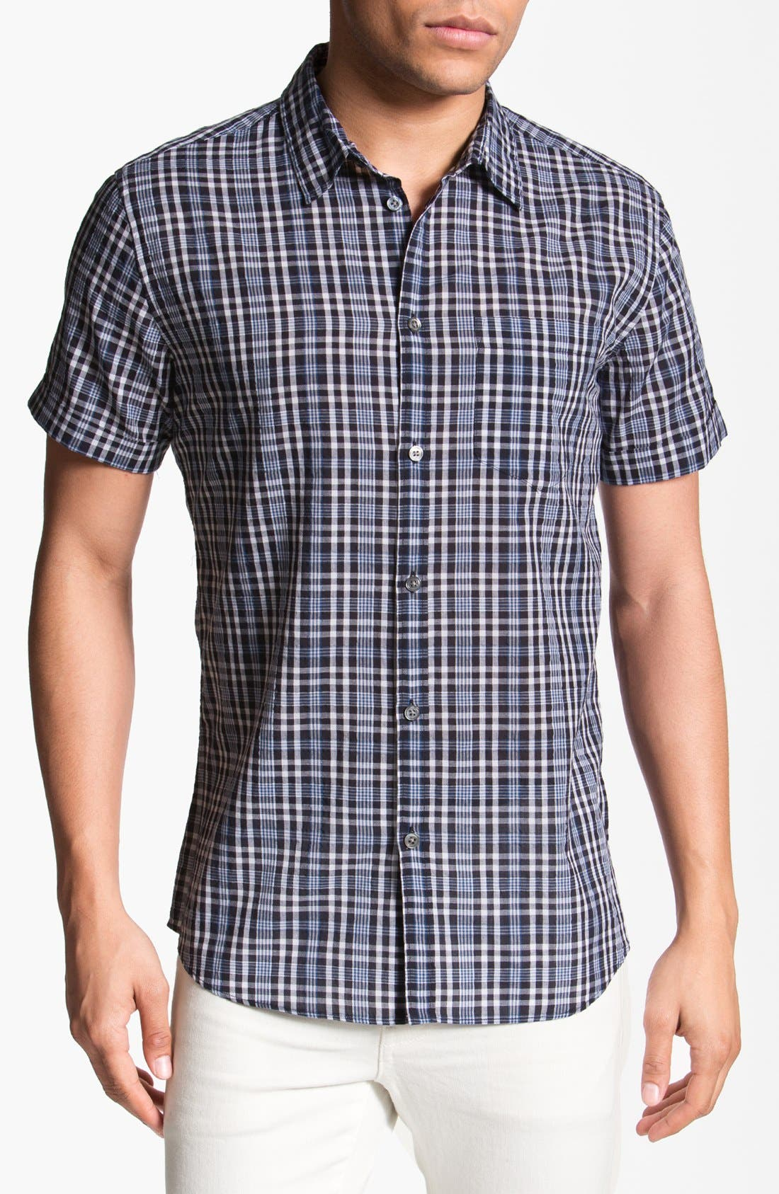 Alternate Image 1 Selected - MARC BY MARC JACOBS 'Dustin' Short Sleeve Woven Shirt
