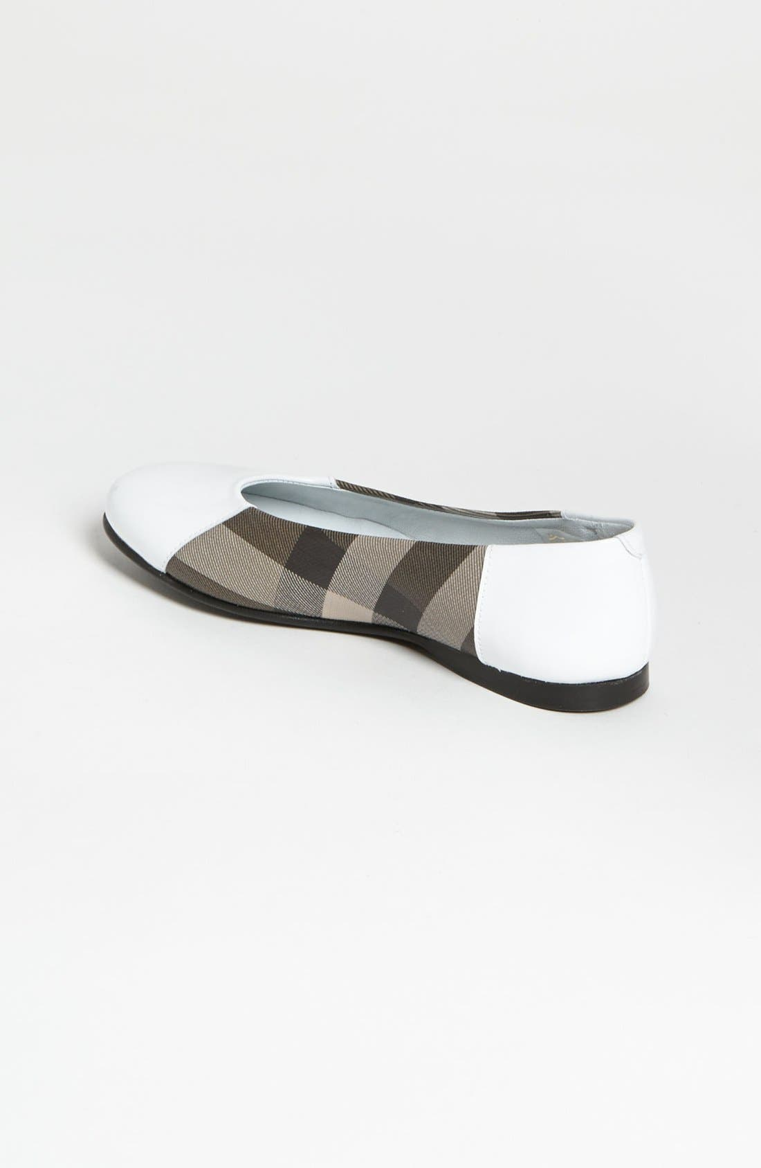 Alternate Image 2  - Burberry 'Effie' Slip-On (Toddler, Little Kid & Big Kid)