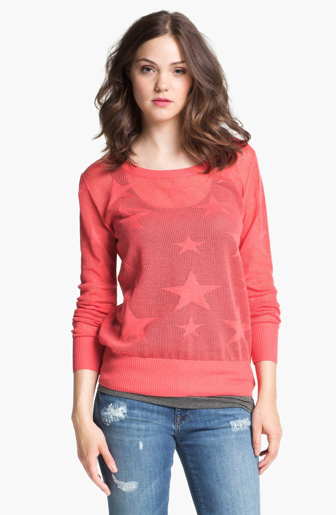 Alternate Image 1 Selected - Max & Mia Star Sweater