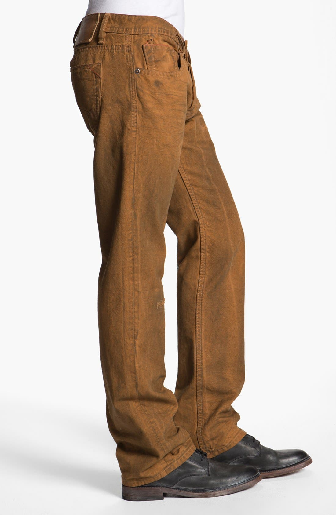 Alternate Image 3  - Cult of Individuality 'Hagen' Relaxed Straight Leg Jeans (Molasses)