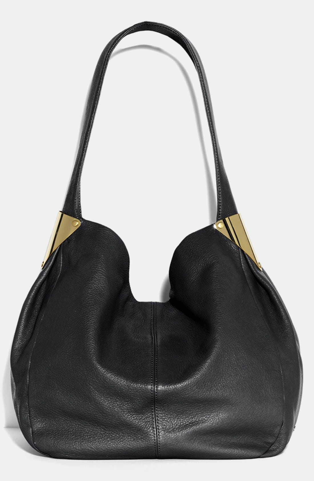 Alternate Image 1 Selected - Vince Camuto 'Grace' Leather Hobo