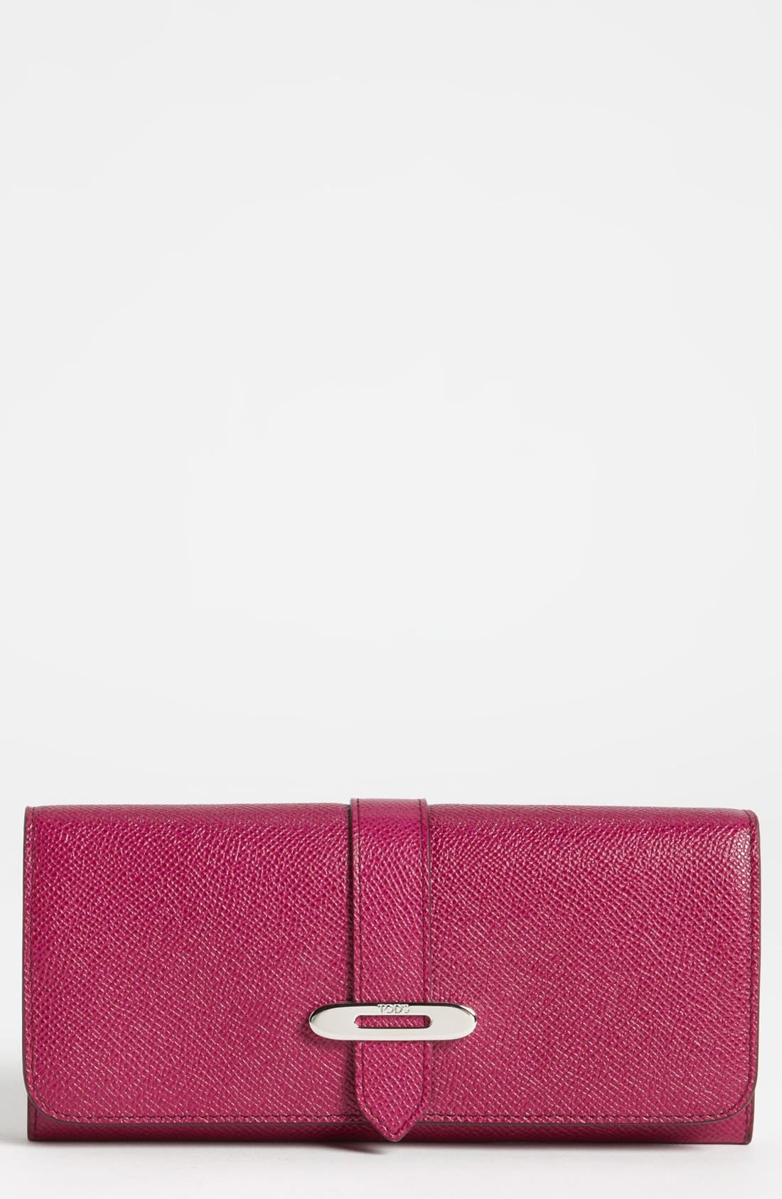 Alternate Image 1 Selected - Tod's 'Mini Rounded' Wallet