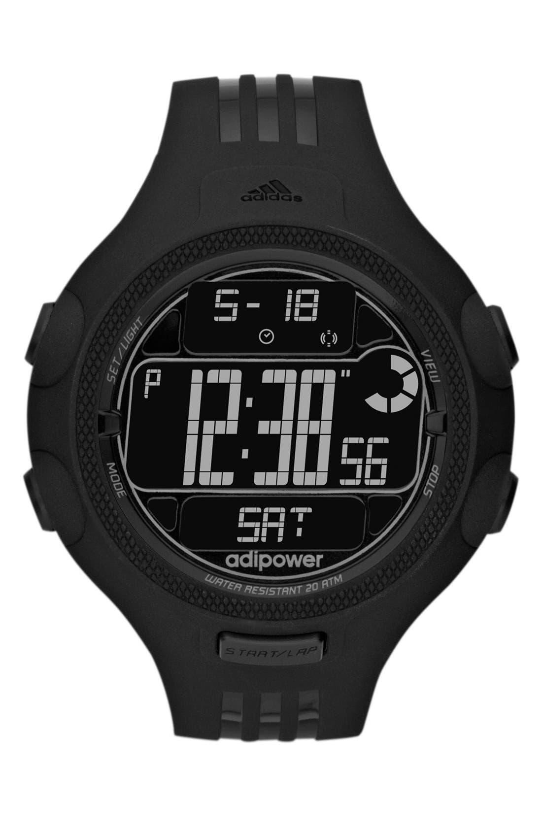 Alternate Image 1 Selected - adidas Performance 'adiPower' Digital Sport Watch, 50mm