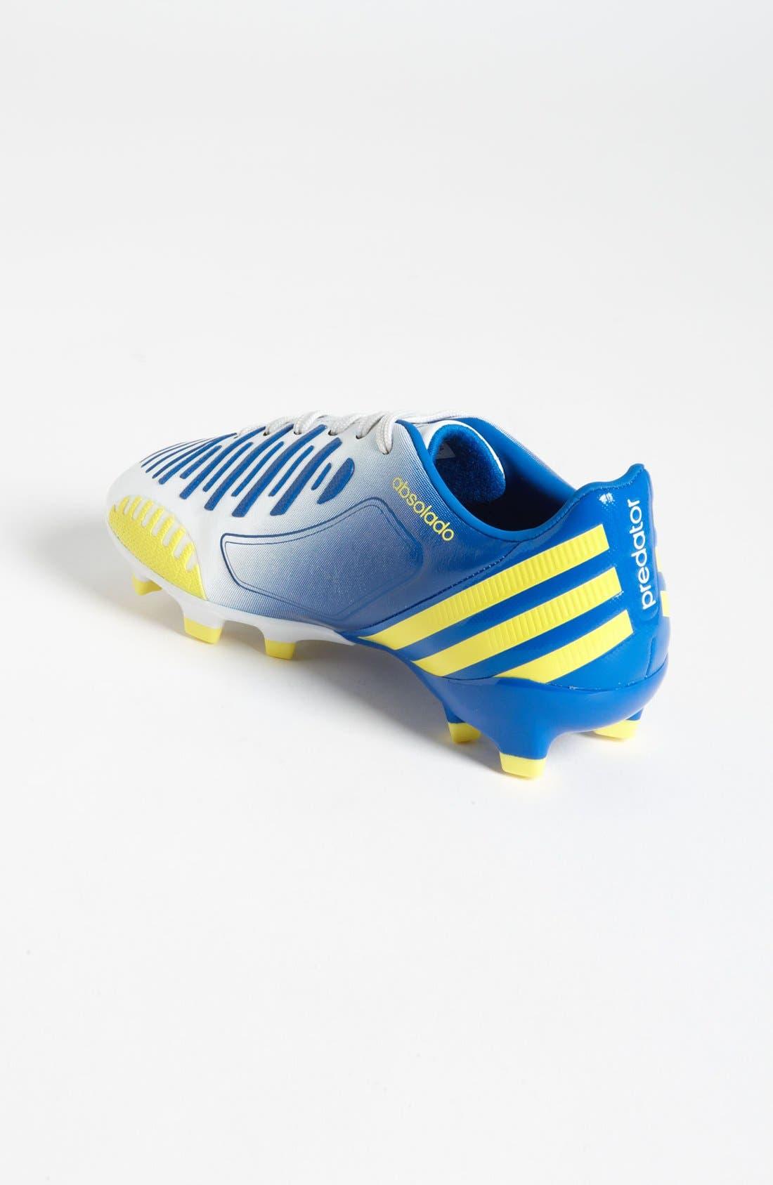 Alternate Image 2  - adidas 'Predator Absolado LZ TRX FG' Soccer Cleats (Toddler, Little Kid & Big Kid)