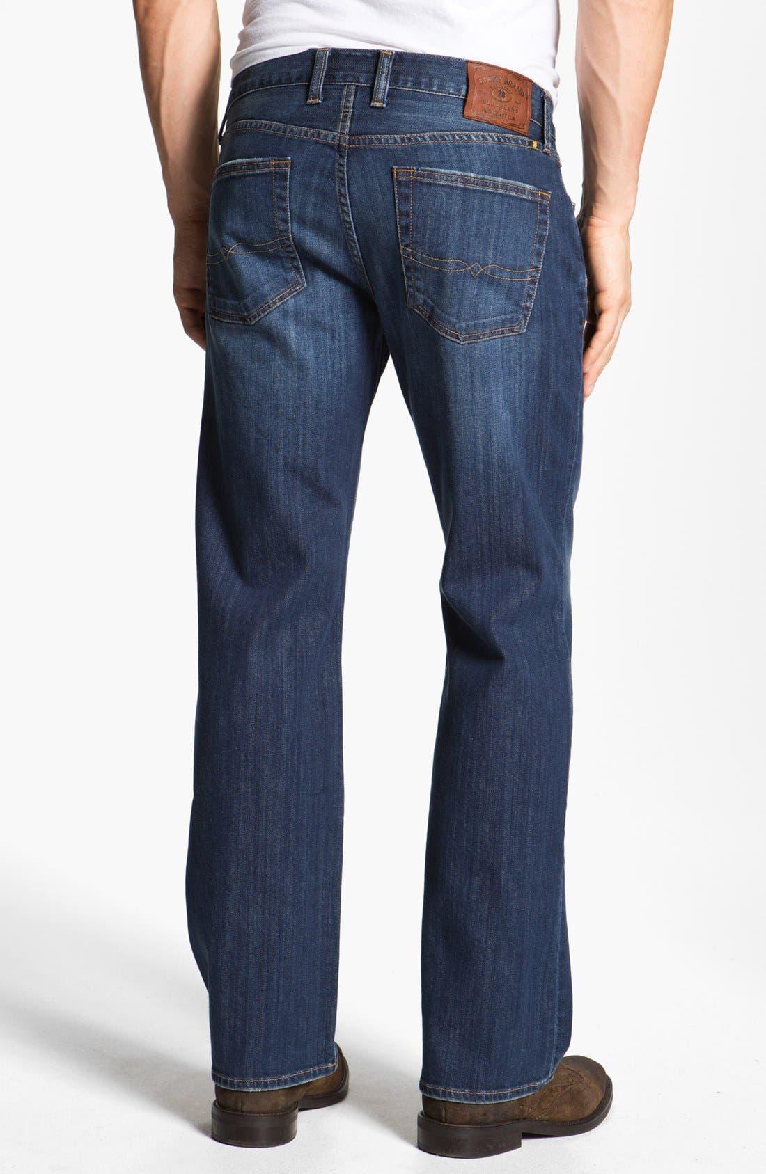 Alternate Image 2  - Lucky Brand '361 Vintage' Straight leg Jeans (Erwin)