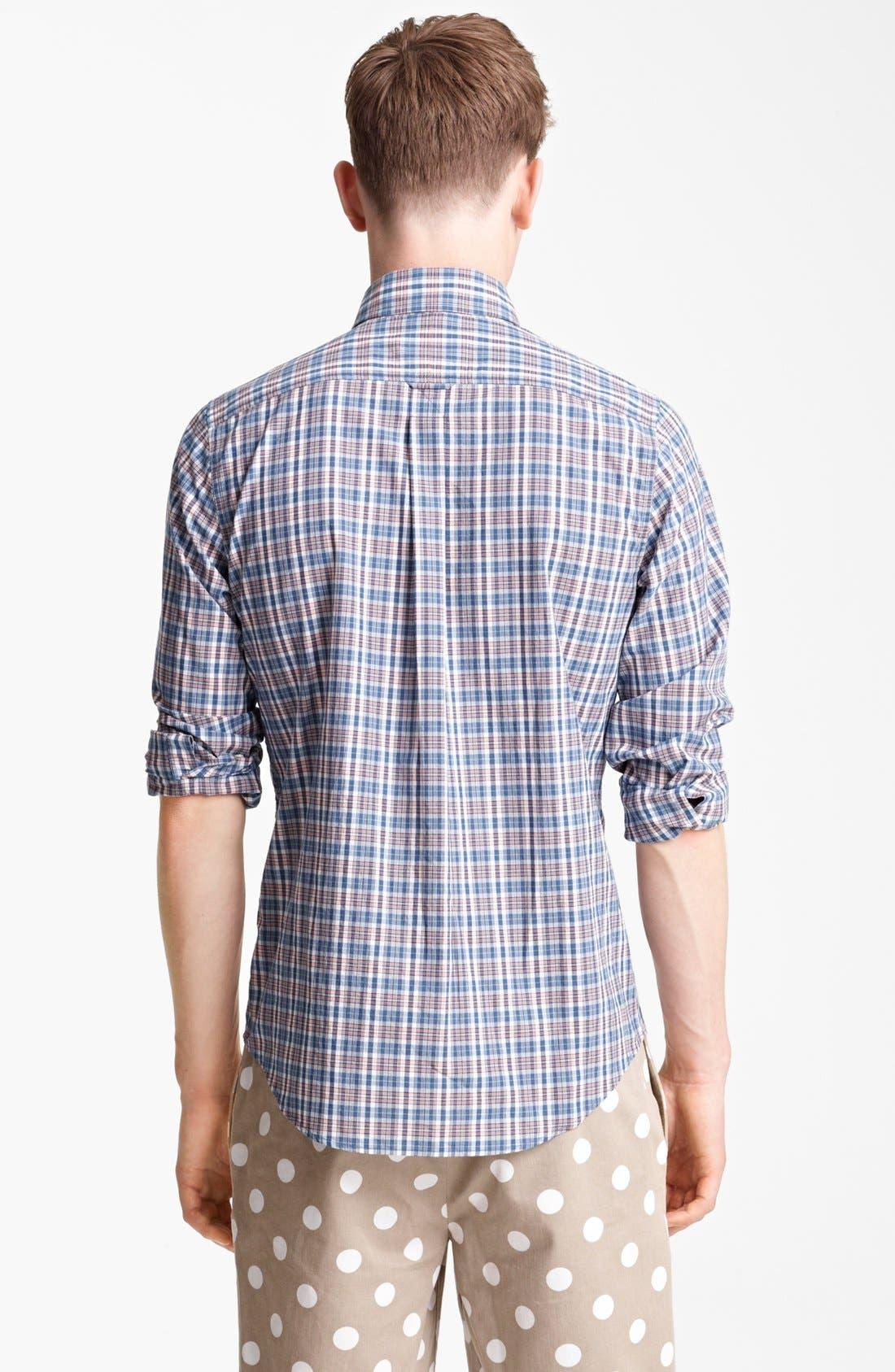 Alternate Image 2  - Jack Spade 'Serge' Plaid Sport Shirt