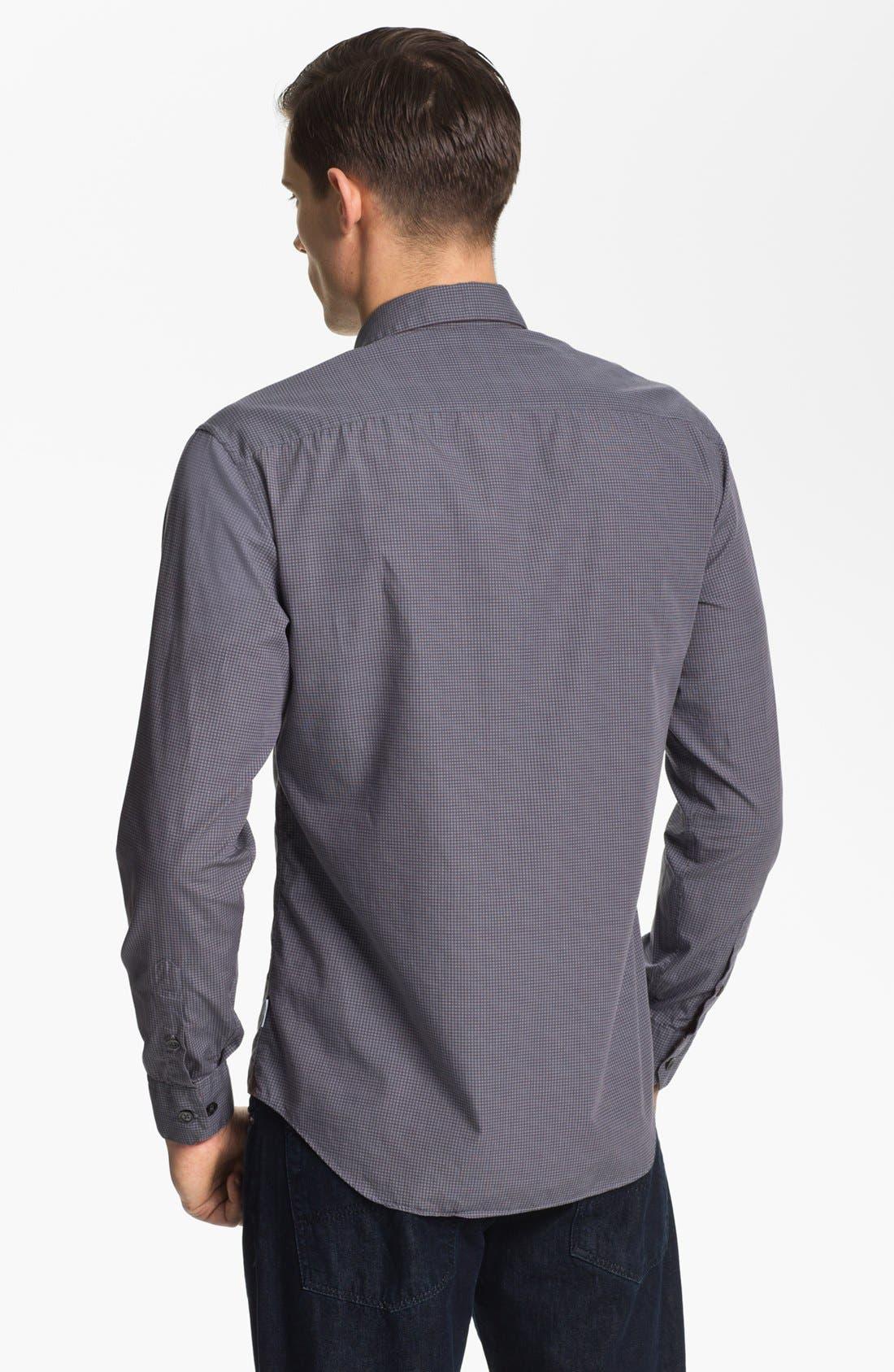 Alternate Image 2  - Armani Collezioni Graph Check Sport Shirt