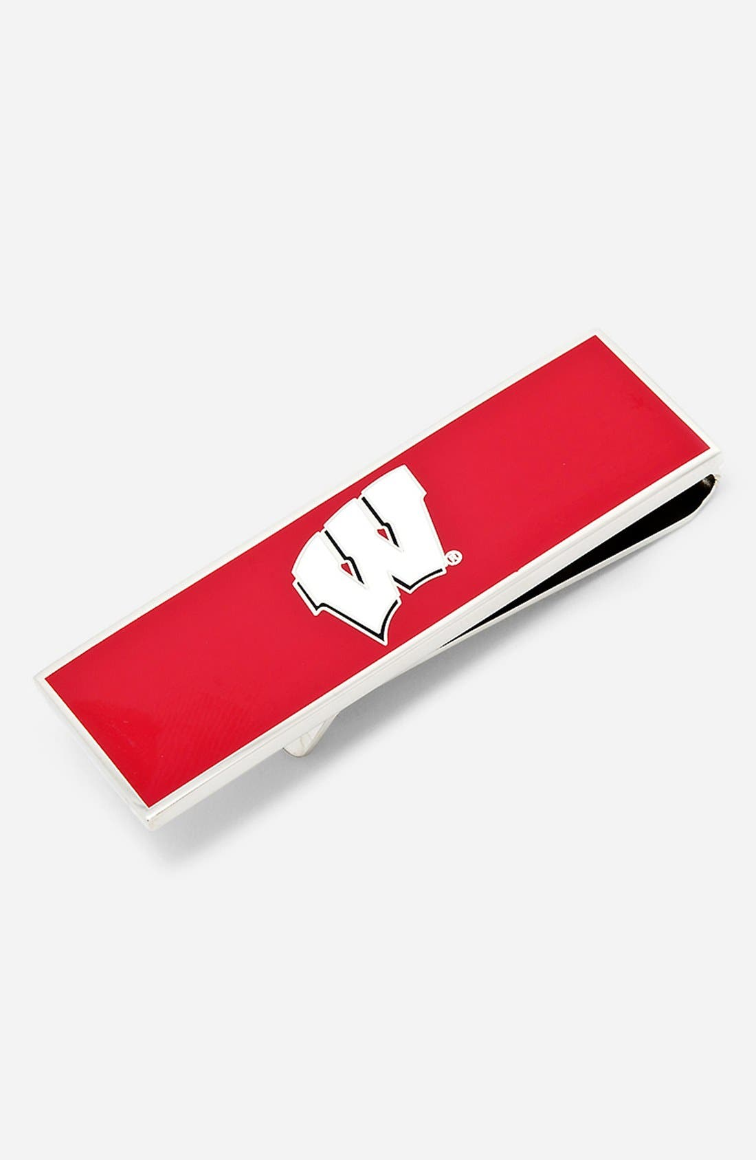 Main Image - Cufflinks, Inc. 'University of Wisconsin Badgers' Money Clip