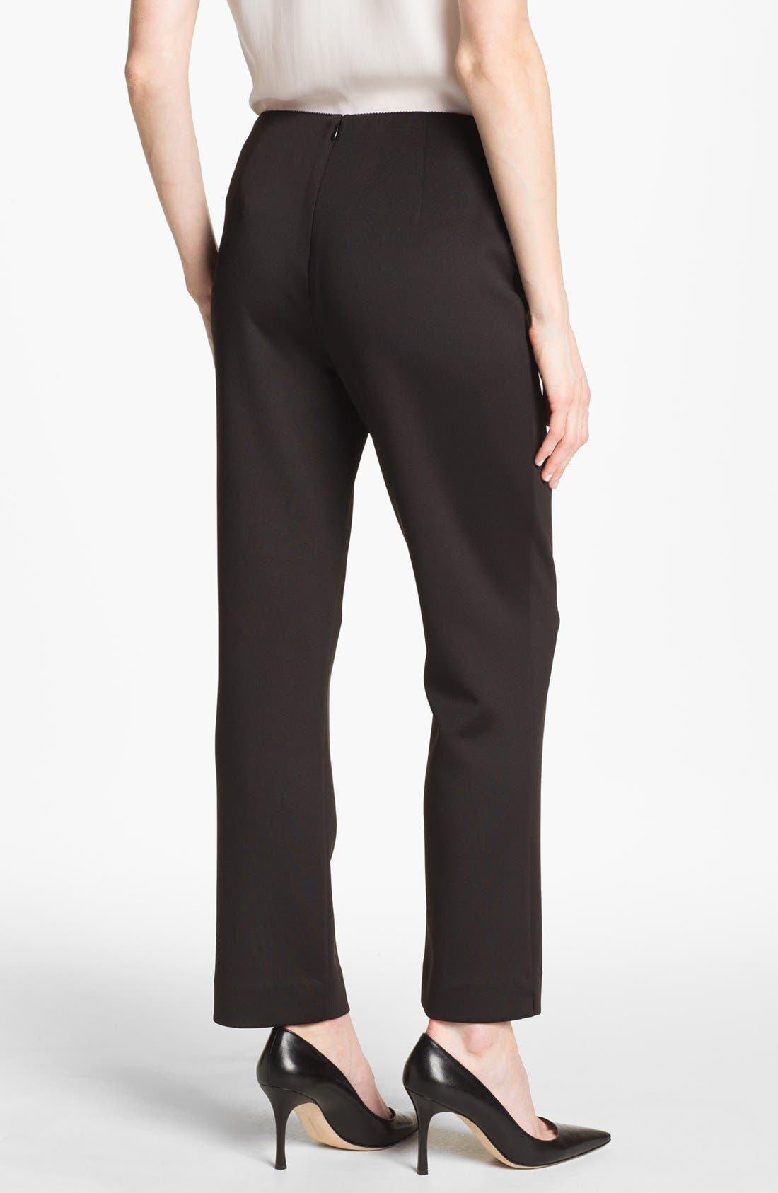 Alternate Image 2  - Alex Evenings Slim Ponte Pants