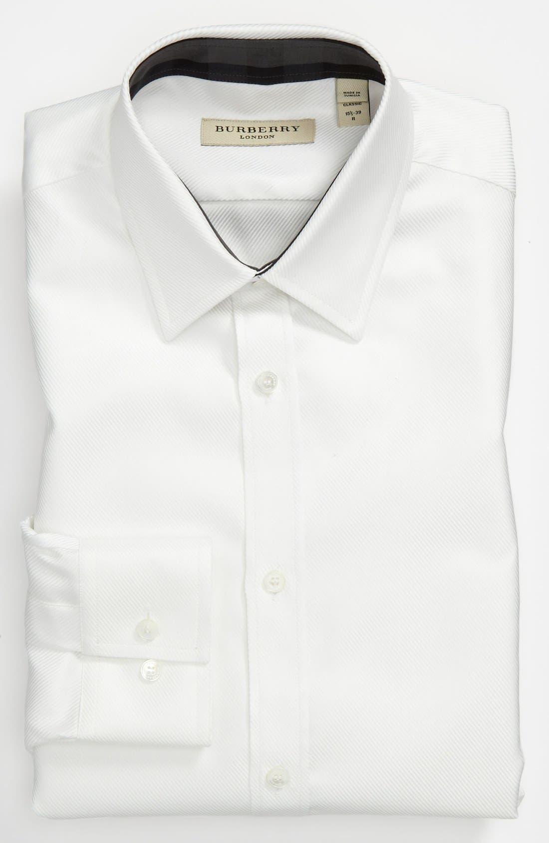 Main Image - Burberry London Regular Fit Dress Shirt