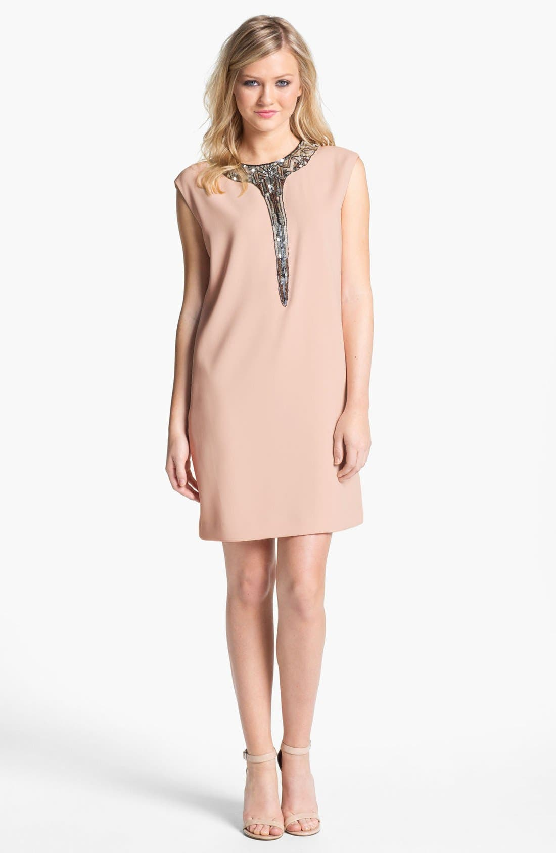 Alternate Image 1  - ERIN erin fetherston Embellished Shift Dress