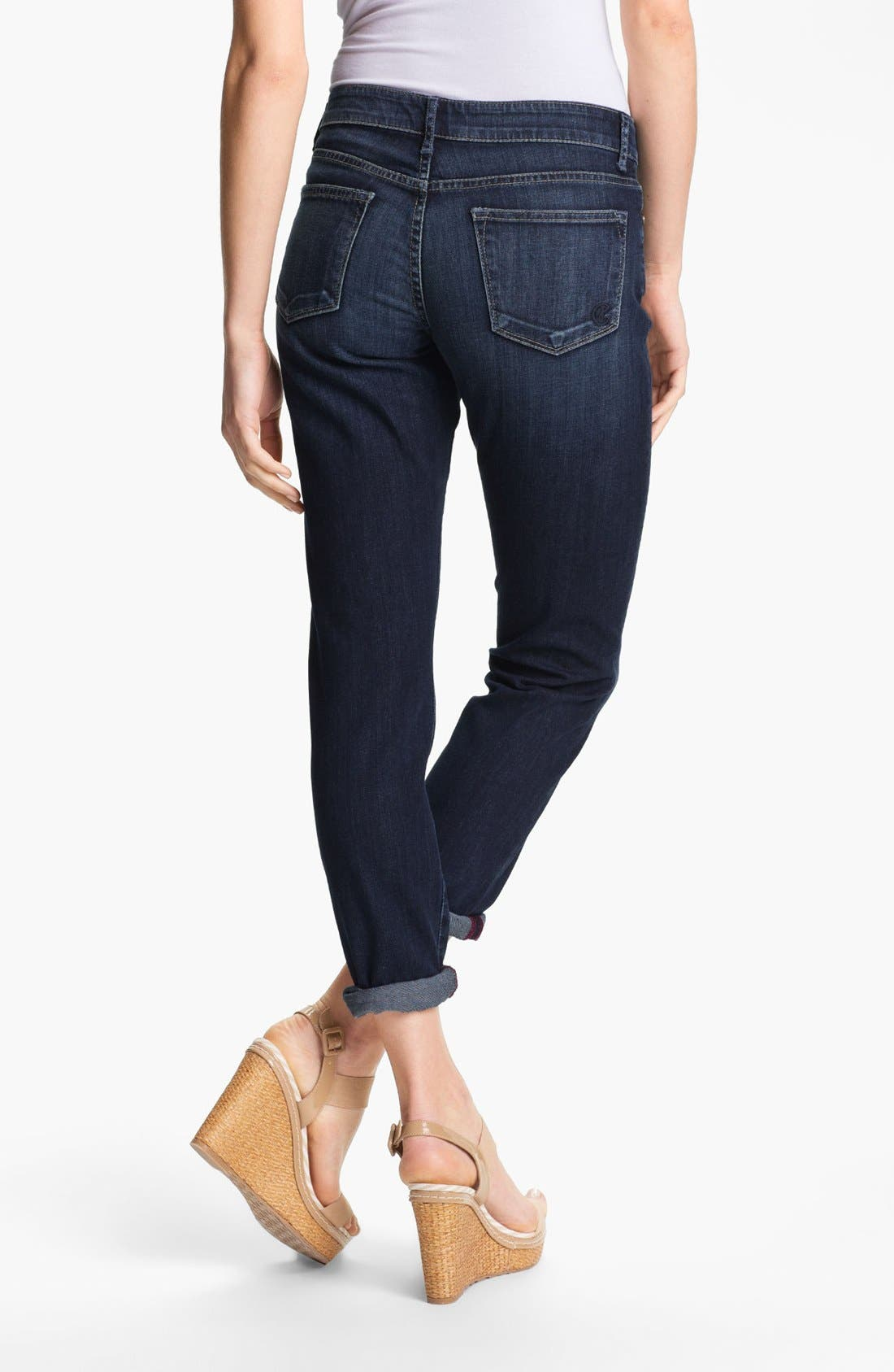 Alternate Image 2  - CJ by Cookie Johnson 'Glory' Slim Boyfriend Stretch Jeans (Kaanapali)