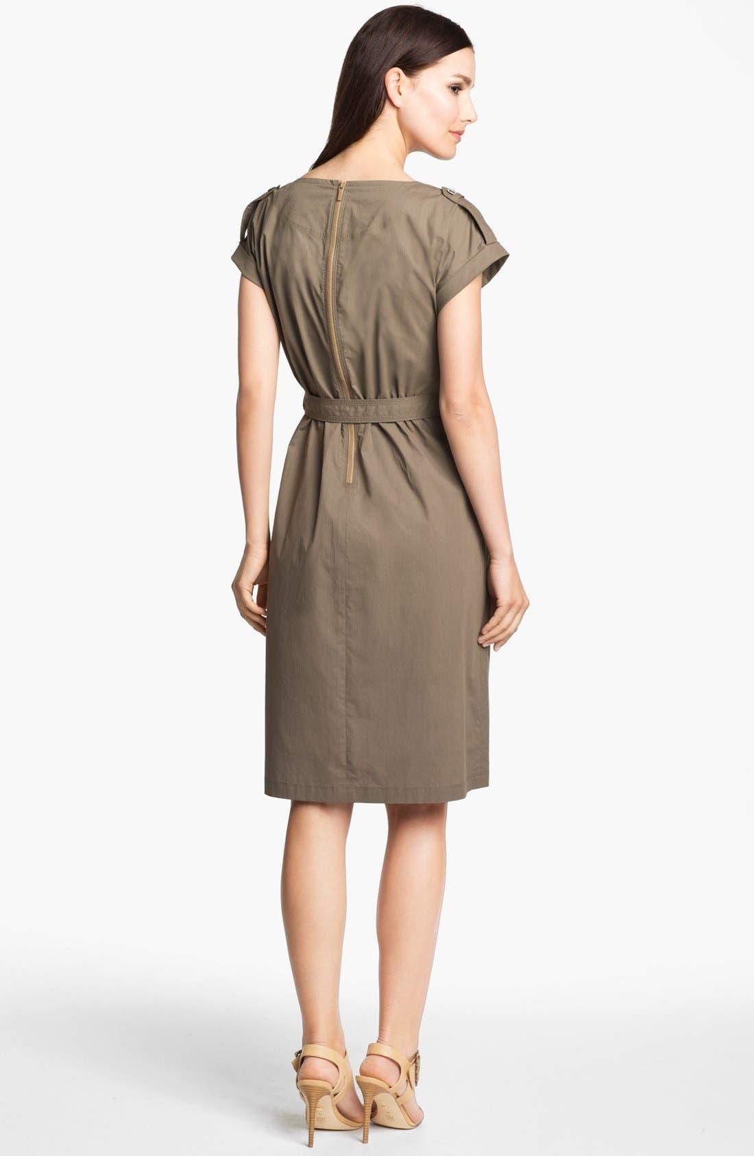 Alternate Image 2  - Lafayette 148 New York Drop Shoulder Dress