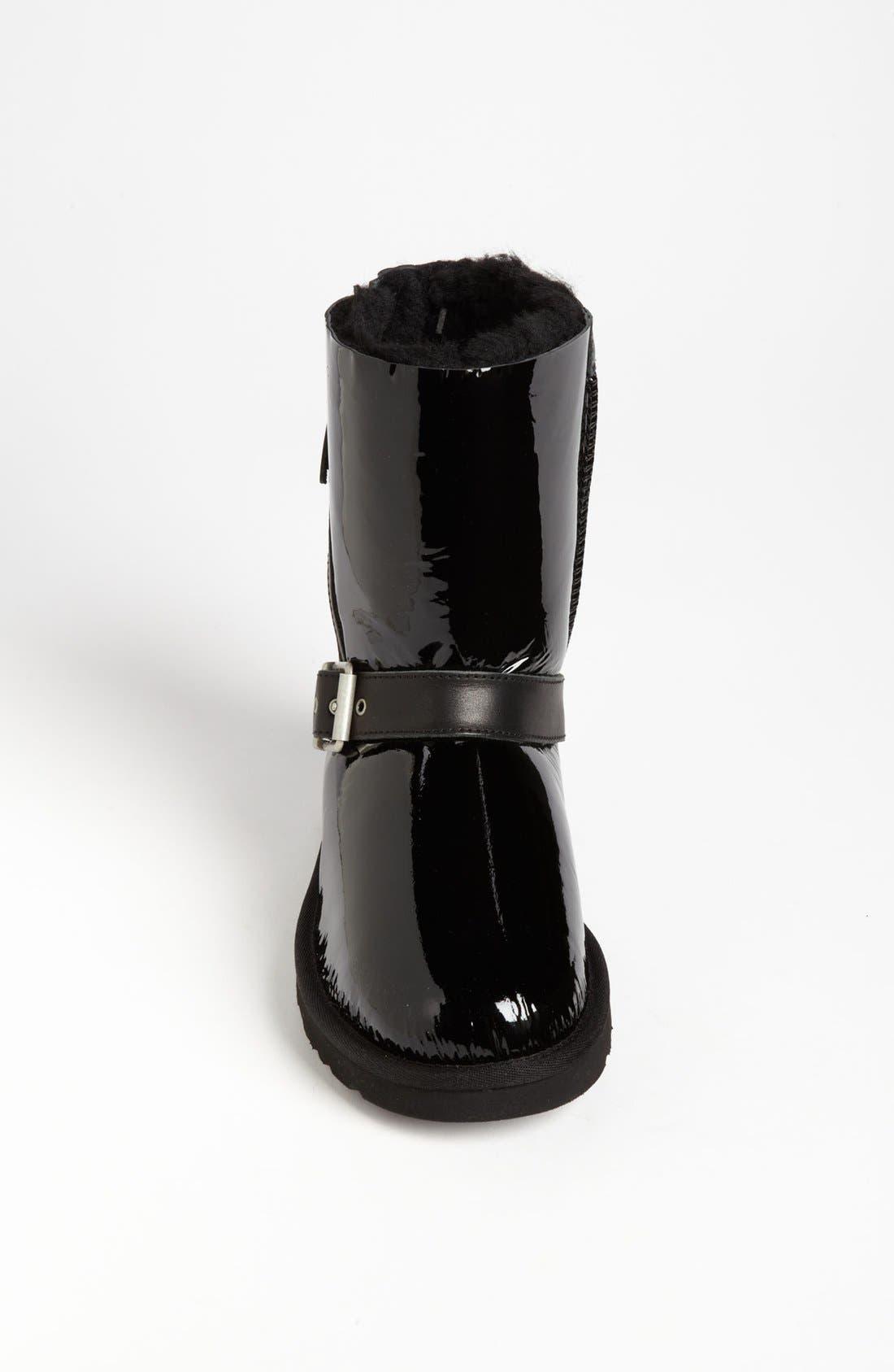 Alternate Image 3  - UGG® Australia 'Blaise' Patent Boot (Women)
