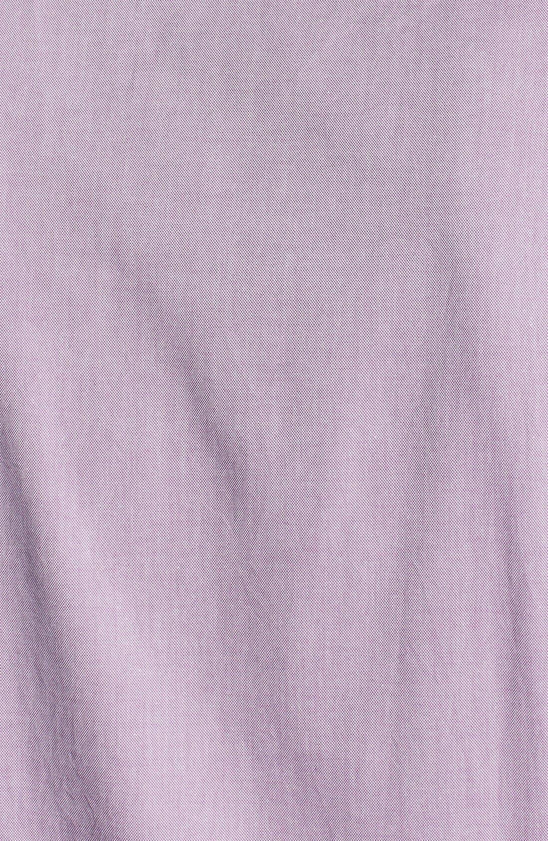 Alternate Image 3  - Ted Baker London 'Oxbid' Trim Fit Sport Shirt