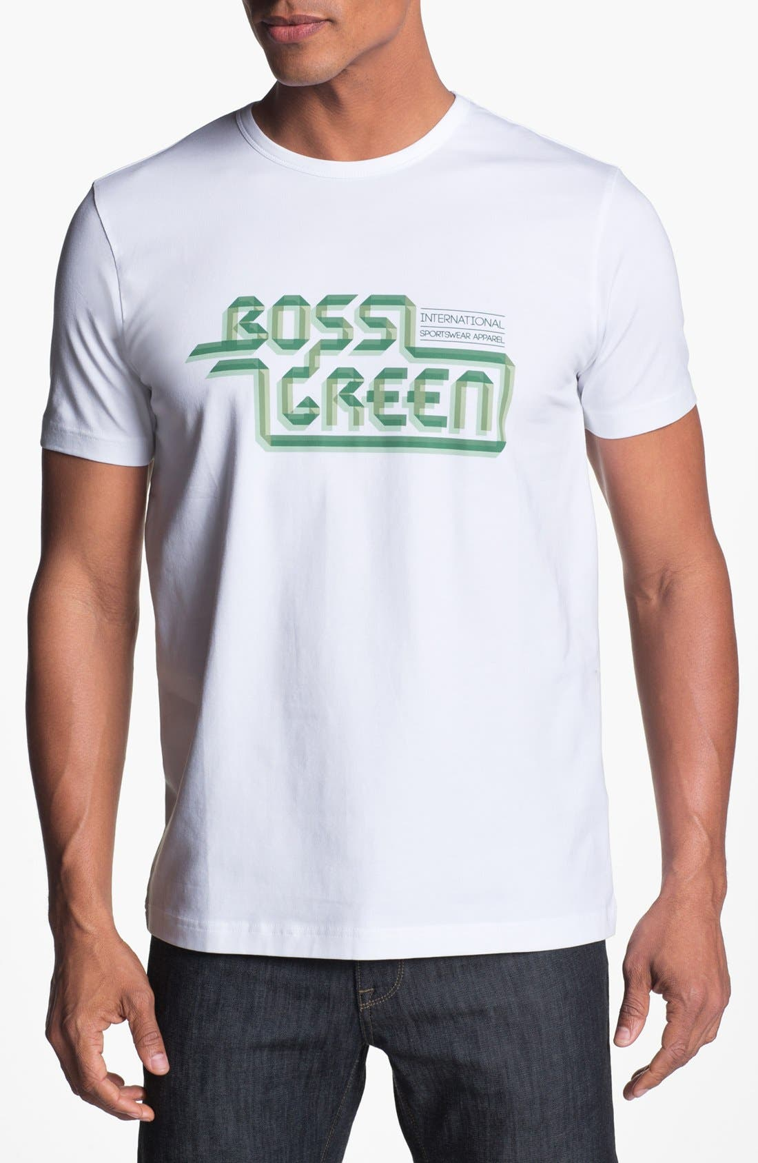 Alternate Image 1 Selected - BOSS Green T-Shirt
