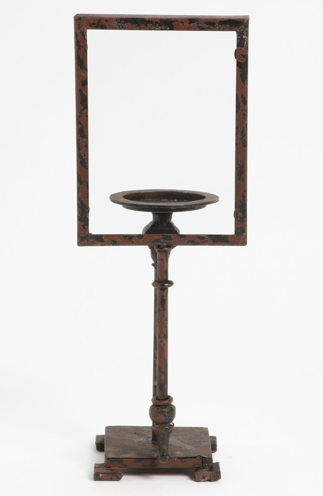 Alternate Image 1 Selected - Distressed Metal Candlestick