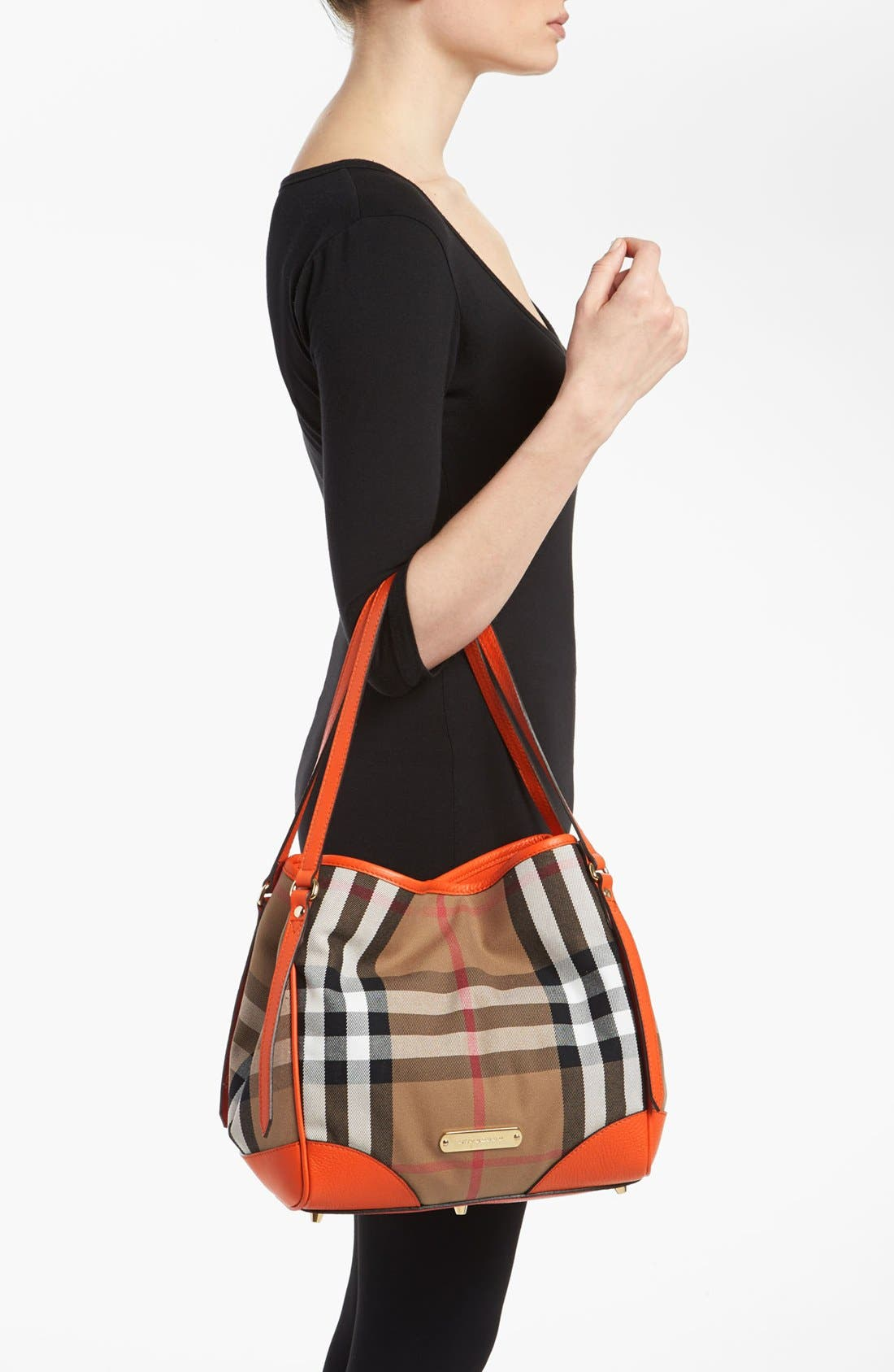 Alternate Image 2  - Burberry 'House Check - Small' Tote
