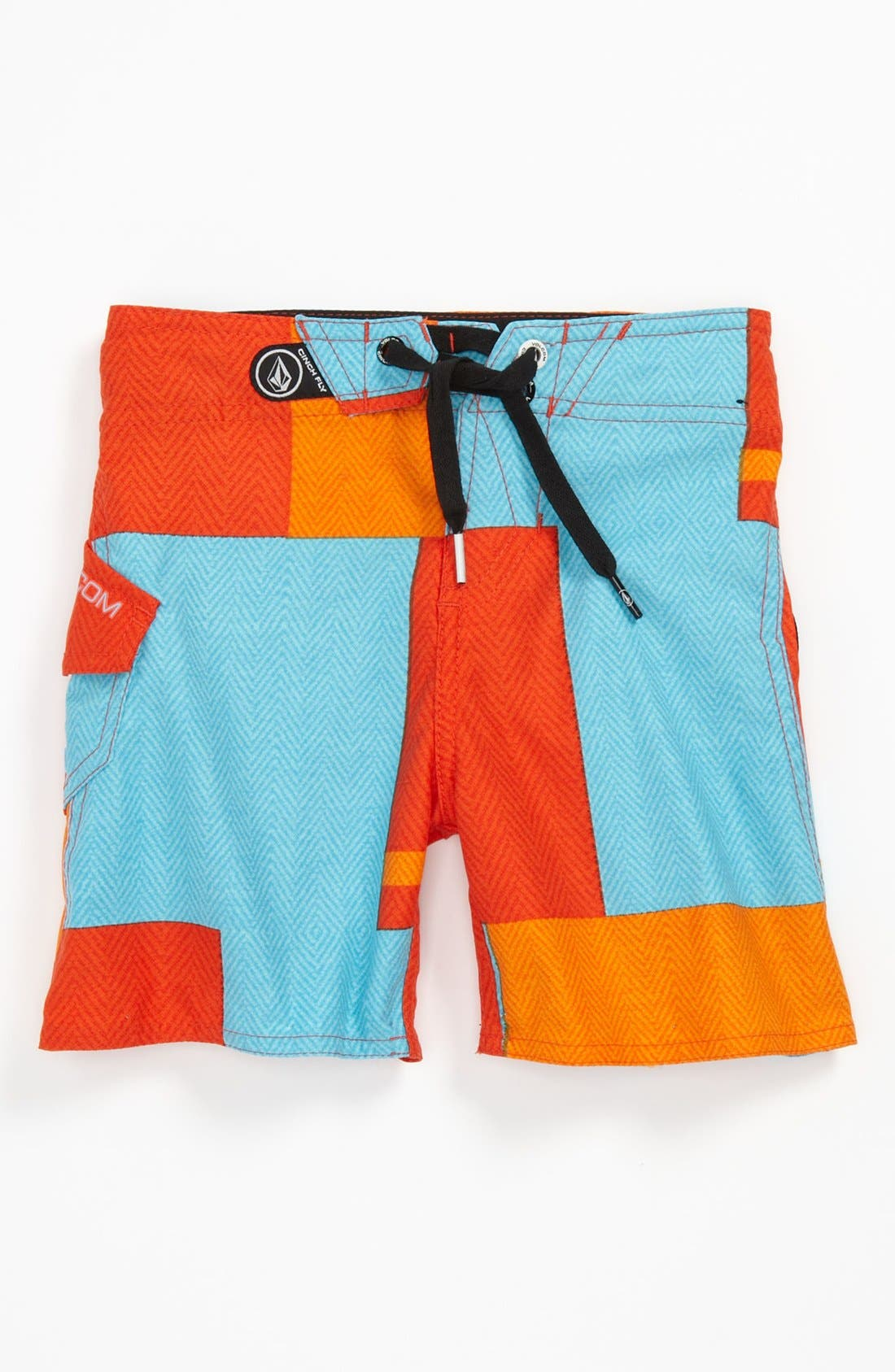 Main Image - Volcom 'Maguro' Board Shorts (Little Boys)