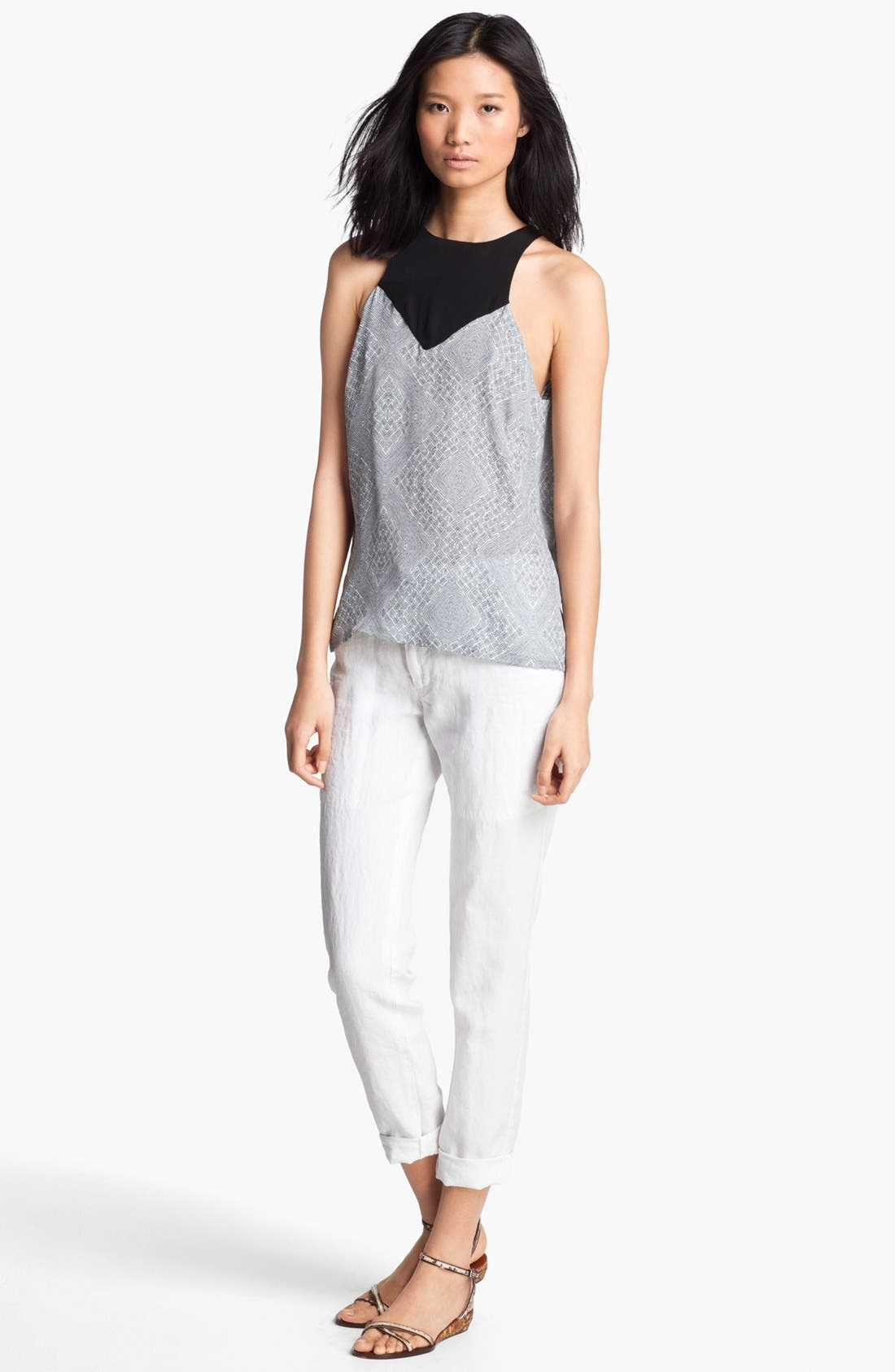 Main Image - A.L.C. 'Myers' Silk Top